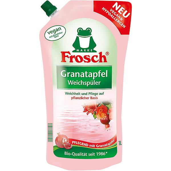 Концентрированный ополаскиватель для белья (Гранат), 1 л, FroschБытовая химия<br>Характеристики товара:<br><br>• объем: 1 л<br>• упаковка: пластик<br>• страна бренда: Германия<br>• страна изготовитель: Германия<br><br>После каждой стрики для сохранения первоначальных свойств ткани необходимо добавлять специальные средства, например, ополаскиватели для белья, которые являются отличными помощниками при стирке. Преимущество средства – не только приятный аромат, но и смягчение, а так же уход за тканью. <br><br>С ополаскивателем вещи будут радовать своей презентабельностью долгое время. Материалы, использованные при изготовлении товара, сертифицированы и отвечают всем международным требованиям по качеству. <br><br>Концентрированный ополаскиватель для белья (Гранат), 1 л, от производителя Frosch (Фрош) можно приобрести в нашем интернет-магазине.<br><br>Ширина мм: 140<br>Глубина мм: 85<br>Высота мм: 280<br>Вес г: 1050<br>Возраст от месяцев: 216<br>Возраст до месяцев: 1188<br>Пол: Унисекс<br>Возраст: Детский<br>SKU: 5185754