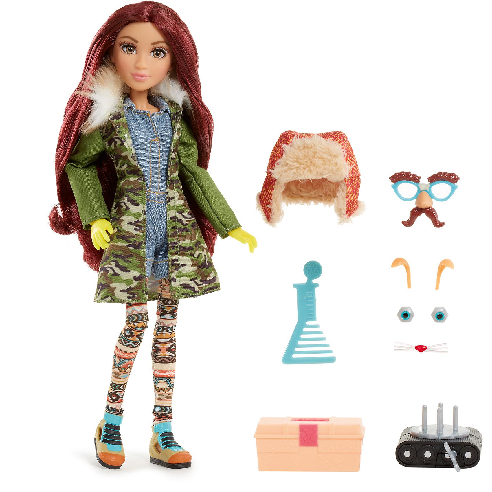 Кукла делюкс Камрин, Project Mс2Мини-куклы<br>Кукла делюкс Камрин, Project Mс2 (Проджект МСи2).<br><br>Характеристики:<br><br>• Размер куклы - 30 см.<br>• Вес: 0,2 кг.<br>• В комплекте: кукла, расческа, маска для маскировки, робот-питомец, чемоданчик.<br>• Материал: пластик, текстиль.<br>• Подвижные суставы: колени, бедра, запястья, локти, плечи, шея.<br><br>Кукла Камрин – это героиня популярного сериала «Project MС2»,девизом которого является «Быть умной – модно!». Камрин одета в пальто цвета хаки, короткий джинсовый комбинезон, на голове у нее теплая шапка-ушанка, на ногах - разноцветные легинсы с этническим узором и ботиночки. Длинные реснички, очень «живые» глазки и выразительные черты лица – придают кукле реалистичный вид. Роскошные, вьющиеся рыжие волосы ваша девочка сможет расчесывать и укладывать в затейливые прически. Такая куколка станет желанным подарком для вашей девочки!<br><br>Куклу делюкс Камрин, Project Mс2 (Проджект МСи2), можно купить в нашем интернет – магазине.<br><br>Ширина мм: 260<br>Глубина мм: 330<br>Высота мм: 70<br>Вес г: 515<br>Возраст от месяцев: 72<br>Возраст до месяцев: 2147483647<br>Пол: Женский<br>Возраст: Детский<br>SKU: 5185765