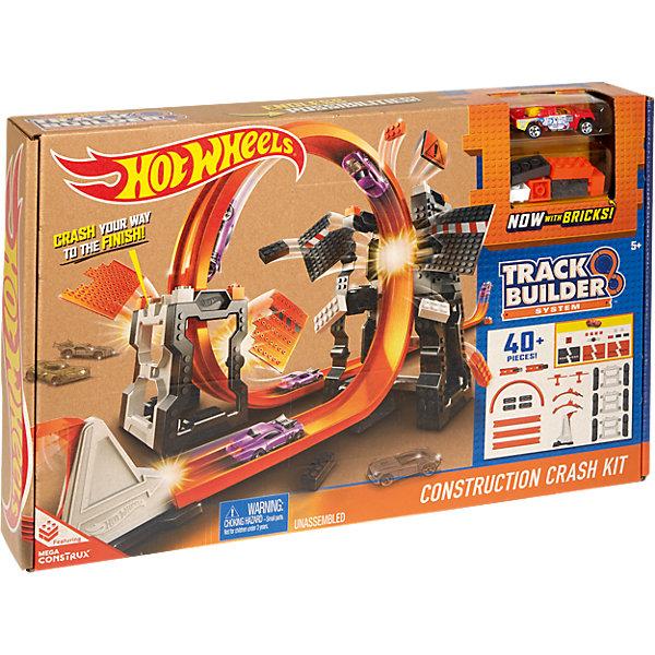 Конструктор трасс: взрывной набор , Hot WheelsМашинки<br>Конструктор трасс: взрывной набор , Hot Wheels (Хот Вилс)<br><br>Характеристики: <br><br>• увлекательный набор с взрывными конструкциями <br>• более 40 деталей В комплекте <br>• подходит к другим частям трассы Хот Вилс <br>• машинка в комплекте <br>• материал: пластик, металл <br><br>Взрывной набор впечатлит каждого поклонника Hot Wheels. В набор входят более 40 деталей, из которых можно построить крутую трассу с навесными конструкциями. Проскакивайте под двумя панелями и врезайтесь в ограничитель - игра действительно в стиле настоящих гонщиков! Вы можете использовать машинку, входящую в комплект, или свою, подходящую по ширине.<br><br>Конструктор трасс: взрывной набор , Hot Wheels (Хот Вилс) можно купить в нашем интернет-магазине.<br><br>Ширина мм: 461<br>Глубина мм: 309<br>Высота мм: 78<br>Вес г: 1199<br>Возраст от месяцев: 48<br>Возраст до месяцев: 96<br>Пол: Мужской<br>Возраст: Детский<br>SKU: 5188166