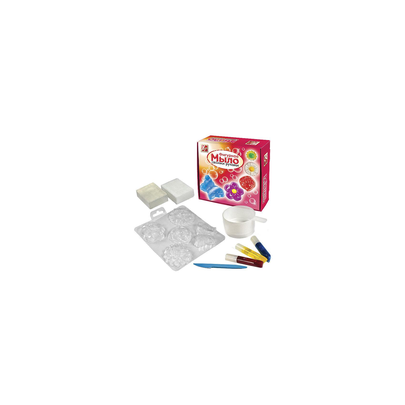 ЛУЧ Набор для  изготовление мыла Цветы наборы для поделок луч набор для изготовления мыла африка