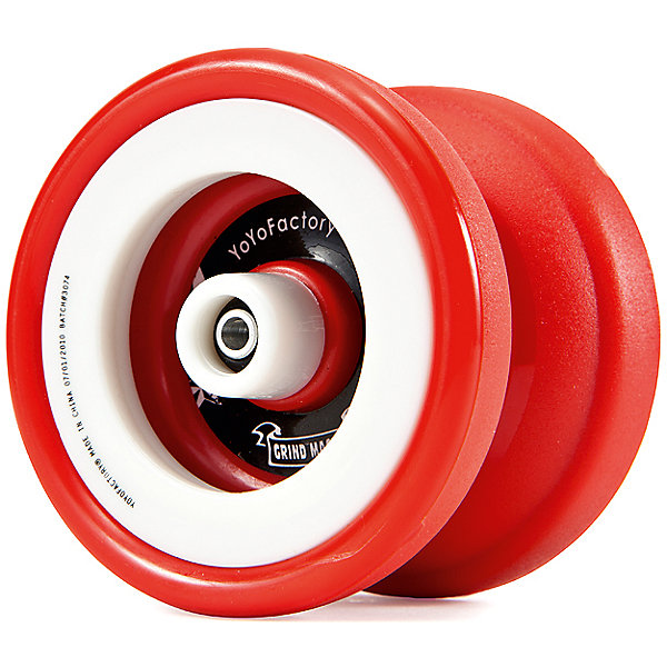 Йо-йо PGM, YoYoFactoryАнтистресс игрушки для рук<br>Йо-йо PGM, YoYoFactory<br><br>Характеристики:<br><br>- в набор входит: йо-йо, веревка, инструкция<br>- материал: пластик, металл,текстиль<br>- форма: бабочка<br>- ширина: 41,83 мм. <br>- диаметр: 56,07 мм.<br>- гэп: 4,34 мм.<br>- подшипник: С <br>- тормозная система: Turning Point K-Pad<br>- вес: 63 гр.<br><br>Йо-йо PGM или Plastic Grind Machine из серии Evolution (Эволюшн) от американской компании занимающейся производством профессиональных йо-йо YoYoFactory (ЙоЙоФэктори) позволит добиться совершенства в грайнд трюках! Отличное пластиковое скользящее покрытие обеспечивает идеальное соприкосновение с игроком, а хабстеки помогут в исполнении трюков стиля матадор. Пластиковые утяжеляющие кольца не снимаются. Йо-йо подходит только для трюков новой школы и не возвращается в руку сразу, так как расстояние между частями увеличено. Йо-йо возвращают в руку с помощью специального движения. Это йо-йо предназначено для исполнения любых трюков вплоть до профессионального уровня. Модель хорошо подойдет как начинающим, так и продвинутым игрокам. Йо-йо упаковано в фирменную стильную коробку.<br><br>Йо-йо PGM, YoYoFactory (ЙоЙоФэктори) можно купить в нашем интернет-магазине.<br>Ширина мм: 45; Глубина мм: 135; Высота мм: 60; Вес г: 90; Возраст от месяцев: 84; Возраст до месяцев: 192; Пол: Унисекс; Возраст: Детский; SKU: 5191412;