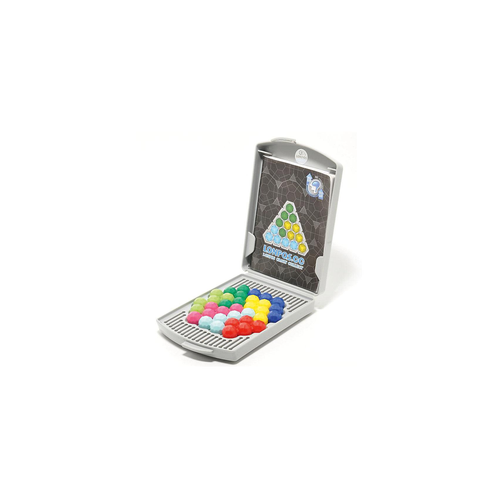 Головоломка Crazy Collect, LonposГоловоломки<br>Головоломка Crazy Collect, Lonpos<br><br>Характеристики:<br><br>- в набор входит: чемоданчик-поле, 7 фигур, задания<br>- материал: пластик, картон<br>- размер упаковки: 9 * 2,5 * 13,5 см. <br>- вес: 150 гр.<br><br>Время двухмерных головоломок Лонпос давно прошло! Теперь красивые цветные шарики с гранями можно укладывать и в пирамиды! Два удобных поля предлагают 87 заданий в двухмерной плоскости и целых 115 в трехмерной. Книжечка формирует задания начиная от более простых и увеличивает сложность постепенно. В конце игры все фигуры можно убрать в практичный чемоданчик, который и является полем. Задача игры выложить начальные фигуры в соответствии с их расположением на картинках в задании и не изменяя их положение дополнить оставшимися фигурами. Имея под рукой несколько Лонпосов можно устраивать веселые соревнования на время. Яркая и интересная игрушка поможет развить логическое мышление, внимание, моторику и терпение. Лонпос упакован в фирменную стильную коробку.<br><br>Головоломка Crazy Collect, Lonpos (Лонпос) можно купить в нашем интернет-магазине.<br><br>Ширина мм: 25<br>Глубина мм: 135<br>Высота мм: 90<br>Вес г: 150<br>Возраст от месяцев: 72<br>Возраст до месяцев: 2147483647<br>Пол: Унисекс<br>Возраст: Детский<br>SKU: 5191414