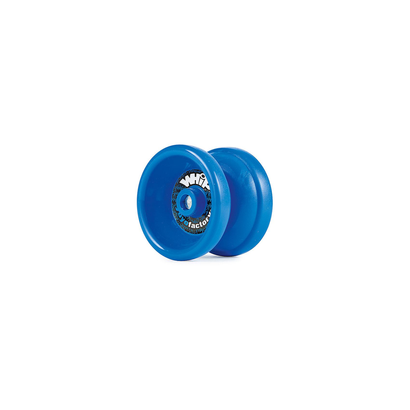 Йо-йо WH!P, YoYoFactoryИгры в дорогу<br>Йо-йо WH!P, YoYoFactory<br><br>Характеристики:<br><br>- в набор входит: йо-йо, веревка, инструкция<br>- материал: пластик, металл,текстиль<br>- форма: бабочка<br>- ширина: 41 мм. <br>- диаметр: 54,24 мм.<br>- гэп: 4,37 мм.<br>- подшипник: С, SPEC<br>- тормозная система: CBC medium Pad<br>- вес: 56,64 гр.<br><br>Йо-йо WH!P из серии Modern Path (Современный путь) от американской компании занимающейся производством профессиональных йо-йо YoYoFactory (ЙоЙоФэктори) позволит освоить и отточить технику трюков. Коллекция, созданная специально для игроков среднего уровня, оттачивающих свои навыки. В комплект к этой пластиковой модели не входят утяжелители, поэтому йо-йо достаточно легкое и позволяет выполнять трюки 5А (фрихенд) с облегченным весом. Йо-йо подходит только для трюков новой школы и не возвращается в руку сразу, так как расстояние между частями увеличено. Йо-йо возвращают в руку с помощью специального движения. Это йо-йо предназначено для исполнения любых трюков вплоть до профессионального уровня. Модель хорошо подойдет как продвинутым, так и профессиональным игрокам. Яркое йо-йо упаковано в фирменную стильную коробку.<br><br>Йо-йо WH!P, YoYoFactory (ЙоЙоФэктори) можно купить в нашем интернет-магазине.<br><br>Ширина мм: 45<br>Глубина мм: 135<br>Высота мм: 60<br>Вес г: 90<br>Возраст от месяцев: 84<br>Возраст до месяцев: 192<br>Пол: Унисекс<br>Возраст: Детский<br>SKU: 5191419