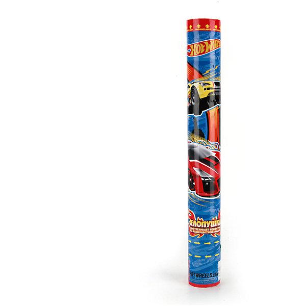 Пневмохлопушка Hot wheels, 40 смДетские хлопушки и бумфетти<br>Характеристики товара:<br><br>• материал: бумага, пластик<br>• размер упаковки: 40х5х5 см<br>• вес: 170 г<br>• комплектация:1 хлопушка<br>• упаковка: тубус<br>• страна бренда: РФ<br>• страна изготовитель: РФ<br><br>Такая хлопушка станет отличным сюрпризом для детей на праздник! Она отличается тем, что на ней изображены машинки Hot wheels, любимые многими современными детьми. Хлопушка поможет создать праздничное настроение, особенно - в компании детей. Она гораздо безопаснее, чем фейерверки и бенгальские огни. Хлопушка высотой 40 сантиметров выглядит внушительно и нарядно!<br>Хлопушка выпущена в удобном формате. Изделие производится из качественных и проверенных материалов, которые безопасны для детей.<br><br>Пневмохлопушку Hot wheels, 40 см, от российского бренда Веселый праздник можно купить в нашем интернет-магазине.<br>Ширина мм: 50; Глубина мм: 50; Высота мм: 400; Вес г: 170; Возраст от месяцев: 36; Возраст до месяцев: 72; Пол: Мужской; Возраст: Детский; SKU: 5196966;