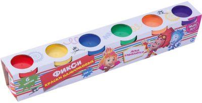 Multiart Пальчиковые краски Фиксики