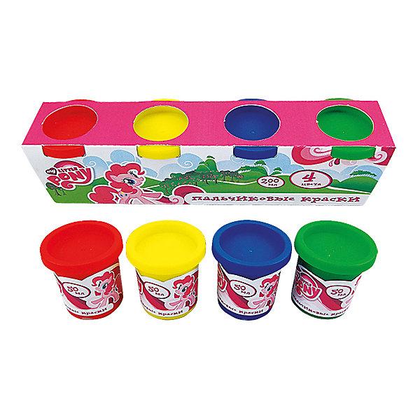 Пальчиковые краски My little ponyПальчиковые краски<br>Характеристики:<br><br>• Предназначение: для занятий художественным творчеством<br>• Серия: Мой маленький пони<br>• Пол: для девочек<br>• Материал: водная основа, натуральные пищевые красители, пластик, картон<br>• Цвет: красный, желтый, зеленый, синий<br>• Комплектация: набор пальчиковых красок из 4-х цветов<br>• Размеры (Д*Ш*В): 5*6*22 см<br>• Вес: 290 г <br>• Упаковка: картонная коробка<br><br>Пальчиковые краски My little pony изготовлены отечественным производителем детских товаров с учетом особенностей психофизиологического развития детей раннего дошкольного возраста. Рисование – это самые первые творческие занятия, которым обучается малыш. Multiart предлагает малышам и их родителям готовые наборы пальчиковых красок для занятий рисованием самых маленьких детей, которые еще не умеют держать в руках кисточку или карандаш.<br>Пальчиковые краски My little pony состоят из водной основы и натуральных пищевых красителей, которые не вызывают аллергии и раздражения. Состав красок полностью безопасен, даже если они случайно попадут в рот, можно не беспокоиться. Набор состоит из 4-х основных цветов: синего, красного, желтого и зеленого. Краски расфасованы в баночки с крышечками. Баночки имеют широкое горлышко, поэтому малышу будет удобно обмакивать пальчики. Пальчиковые краски хорошо смываются с рук и любой поверхности, не оставляя следа.<br>С творческими наборами от Multiart Ваш ребенок научится рисовать, что будет способствовать его творческому и интеллектуальному развитию. Творческие наборы могут стать хорошим подарком к предстоящим торжествам и праздникам.<br><br>Пальчиковые краски My little pony можно купить в нашем интернет-магазине.<br>Ширина мм: 50; Глубина мм: 60; Высота мм: 220; Вес г: 290; Возраст от месяцев: 36; Возраст до месяцев: 72; Пол: Женский; Возраст: Детский; SKU: 5196981;