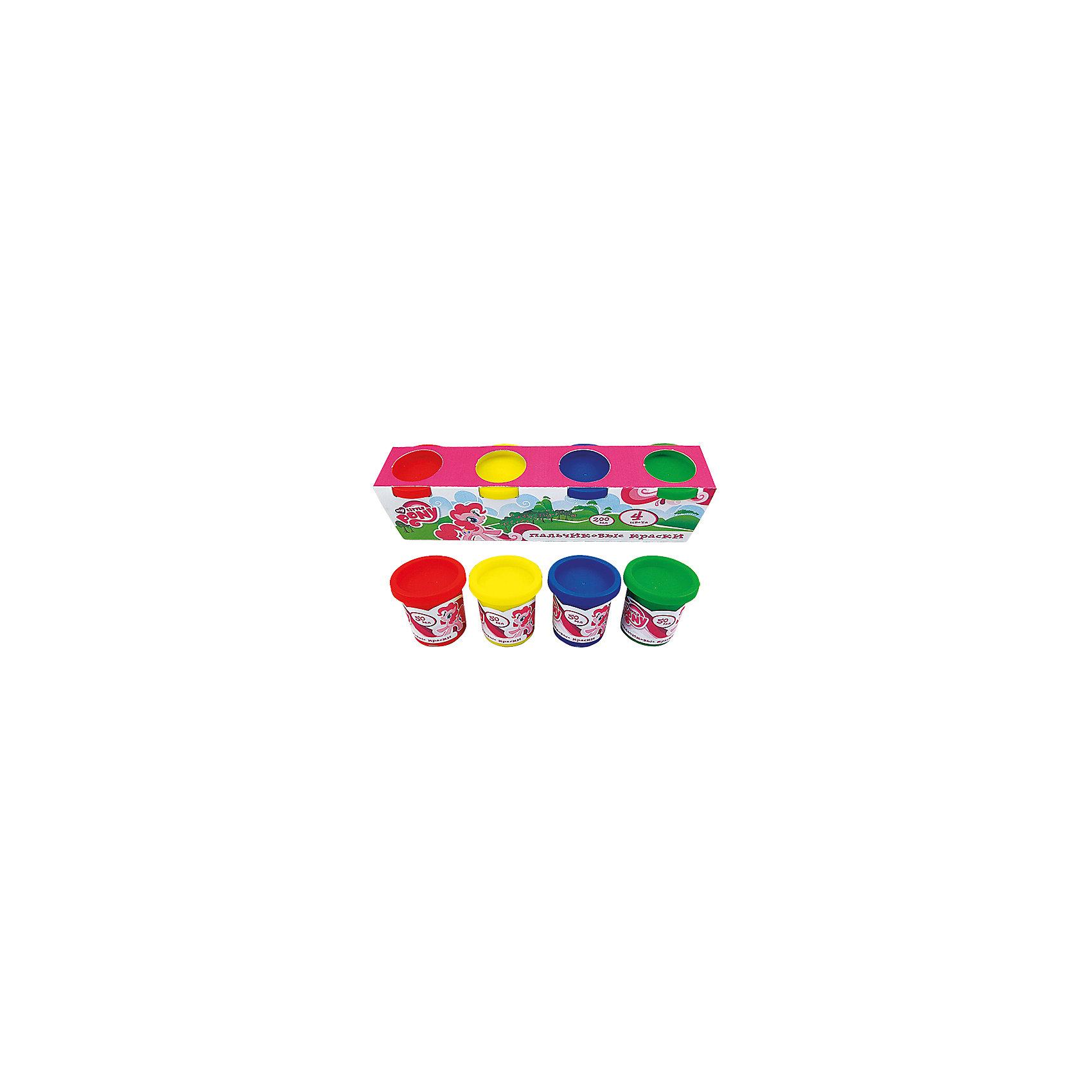 Пальчиковые краски My little ponyХарактеристики:<br><br>• Предназначение: для занятий художественным творчеством<br>• Серия: Мой маленький пони<br>• Пол: для девочек<br>• Материал: водная основа, натуральные пищевые красители, пластик, картон<br>• Цвет: красный, желтый, зеленый, синий<br>• Комплектация: набор пальчиковых красок из 4-х цветов<br>• Размеры (Д*Ш*В): 5*6*22 см<br>• Вес: 290 г <br>• Упаковка: картонная коробка<br><br>Пальчиковые краски My little pony изготовлены отечественным производителем детских товаров с учетом особенностей психофизиологического развития детей раннего дошкольного возраста. Рисование – это самые первые творческие занятия, которым обучается малыш. Multiart предлагает малышам и их родителям готовые наборы пальчиковых красок для занятий рисованием самых маленьких детей, которые еще не умеют держать в руках кисточку или карандаш.<br>Пальчиковые краски My little pony состоят из водной основы и натуральных пищевых красителей, которые не вызывают аллергии и раздражения. Состав красок полностью безопасен, даже если они случайно попадут в рот, можно не беспокоиться. Набор состоит из 4-х основных цветов: синего, красного, желтого и зеленого. Краски расфасованы в баночки с крышечками. Баночки имеют широкое горлышко, поэтому малышу будет удобно обмакивать пальчики. Пальчиковые краски хорошо смываются с рук и любой поверхности, не оставляя следа.<br>С творческими наборами от Multiart Ваш ребенок научится рисовать, что будет способствовать его творческому и интеллектуальному развитию. Творческие наборы могут стать хорошим подарком к предстоящим торжествам и праздникам.<br><br>Пальчиковые краски My little pony можно купить в нашем интернет-магазине.<br><br>Ширина мм: 50<br>Глубина мм: 60<br>Высота мм: 220<br>Вес г: 290<br>Возраст от месяцев: 36<br>Возраст до месяцев: 72<br>Пол: Женский<br>Возраст: Детский<br>SKU: 5196981
