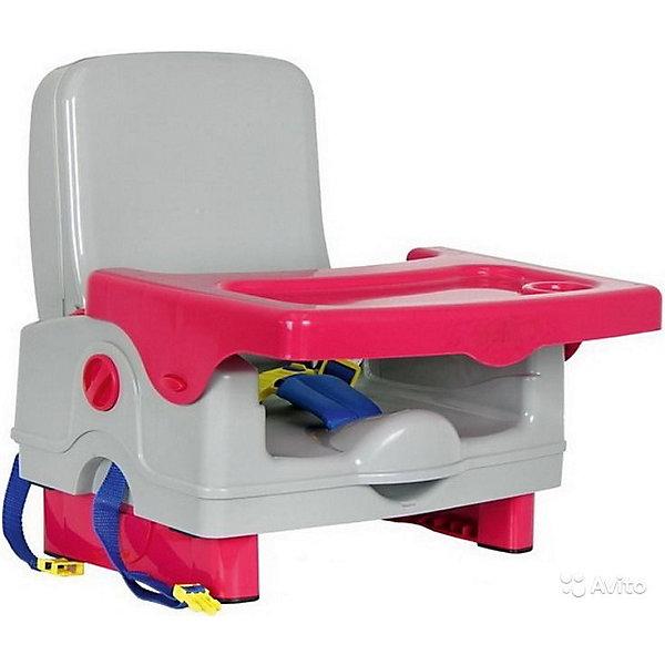 Стульчик для кормления BH-410 Selby, серый/красныйСтульчики для кормления<br>Характеристики стульчика для кормления BH-410 Selby:<br><br>• стульчик устанавливается на обычный стул со спинкой;<br>• способ крепления: с помощью специальных ремней, которые оснащены карабинами;<br>• имеется столик, который можно снять и вымыть;<br>• столешница оснащена бортиками и углублением для поильника-чашки-бутылочки;<br>• 3-х точечные ремни безопасности регулируются по длине, надежно защищают кроху во время пребывания в стульчике;<br>• стульчик складывается очень компактно, в сложенном виде представляет собой чемоданчик с ручкой для переноса;<br>• на спинке стульчика имеется ящик для мелких аксессуаров;<br>• откидывается спинка и ножки;<br>• материал: пластик.<br><br>Размеры: <br><br>• размер стульчика: 42,5х38х39,5 см;<br>• размер чемоданчика (стульчик в сложенном виде): 40х20х31 см;<br>• размер столешницы: 38,5х27,5 см;<br>• вес стульчика: 2,6 кг;<br>• вес в упаковке: 3 кг.<br><br>Стульчик для кормления BH-410 Selby, серый/красный можно купить в нашем интернет-магазине.<br>Ширина мм: 370; Глубина мм: 330; Высота мм: 390; Вес г: 3000; Возраст от месяцев: 6; Возраст до месяцев: 36; Пол: Унисекс; Возраст: Детский; SKU: 5197369;