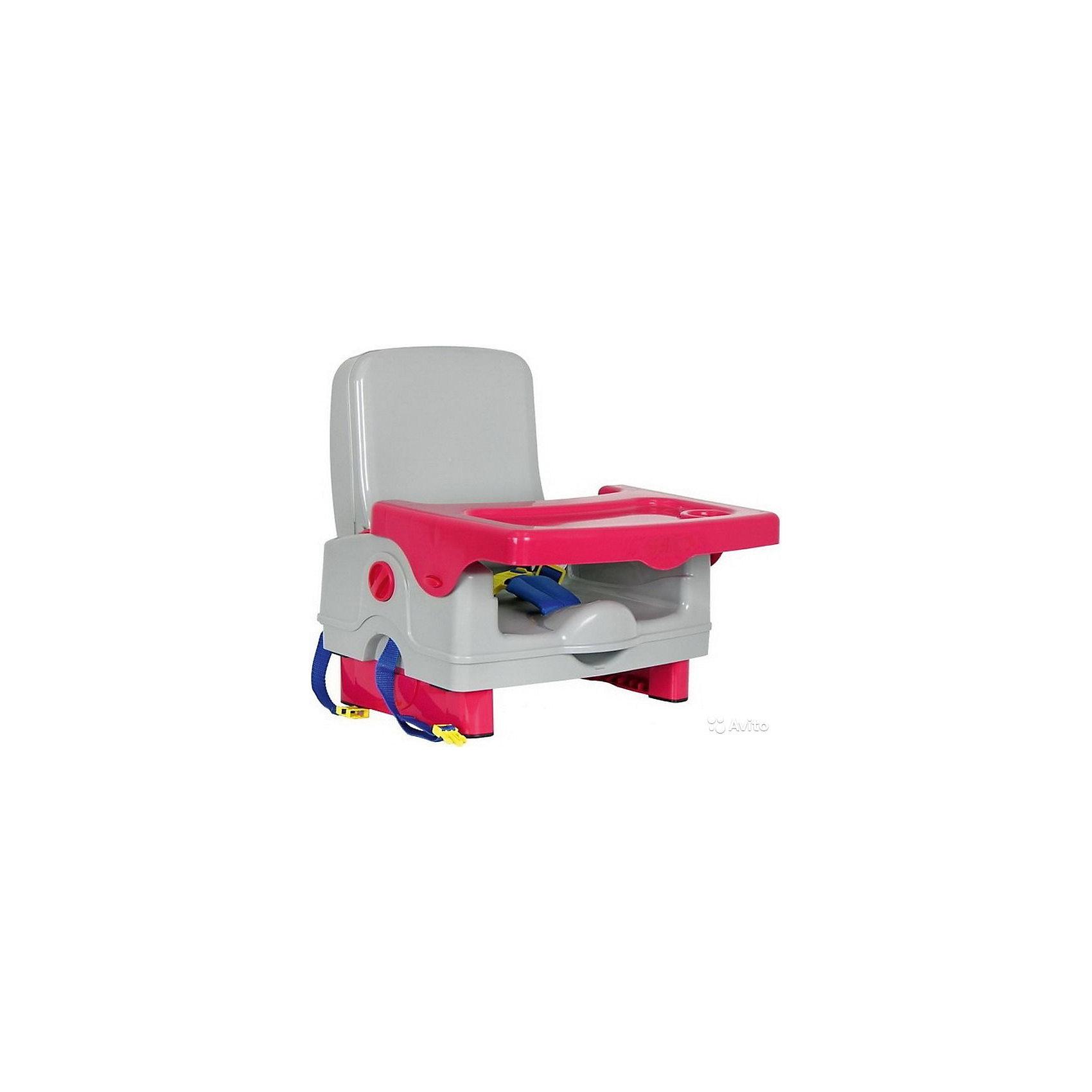 Стульчик для кормления BH-410 Selby, серый/красныйСтульчики для кормления<br>Характеристики стульчика для кормления BH-410 Selby:<br><br>• стульчик устанавливается на обычный стул со спинкой;<br>• способ крепления: с помощью специальных ремней, которые оснащены карабинами;<br>• имеется столик, который можно снять и вымыть;<br>• столешница оснащена бортиками и углублением для поильника-чашки-бутылочки;<br>• 3-х точечные ремни безопасности регулируются по длине, надежно защищают кроху во время пребывания в стульчике;<br>• стульчик складывается очень компактно, в сложенном виде представляет собой чемоданчик с ручкой для переноса;<br>• на спинке стульчика имеется ящик для мелких аксессуаров;<br>• откидывается спинка и ножки;<br>• материал: пластик.<br><br>Размеры: <br><br>• размер стульчика: 42,5х38х39,5 см;<br>• размер чемоданчика (стульчик в сложенном виде): 40х20х31 см;<br>• размер столешницы: 38,5х27,5 см;<br>• вес стульчика: 2,6 кг;<br>• вес в упаковке: 3 кг.<br><br>Стульчик для кормления BH-410 Selby, серый/красный можно купить в нашем интернет-магазине.<br><br>Ширина мм: 370<br>Глубина мм: 330<br>Высота мм: 390<br>Вес г: 3000<br>Возраст от месяцев: 6<br>Возраст до месяцев: 36<br>Пол: Унисекс<br>Возраст: Детский<br>SKU: 5197369