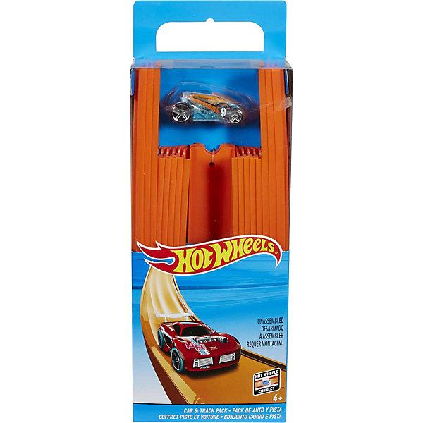 4-х метровая трасса с 1 базовой машинкой в наборе, Hot WheelsАвтотреки<br>4-х метровая трасса с 1 базовой машинкой в наборе, Hot Wheels (Хот Вилс)<br><br>Характеристики:<br><br>• огромная трасса подходит практически для любых машинок Hot Wheels<br>• более 30 деталей<br>• в комплекте: 12 участков длиной 22 см, 6 участков длиной 30 см, 18 соединителей, машинка<br>• материал: пластик<br>• длина трассы: 4,5 метра<br><br>Устройте настоящие соревнования на гоночной трассе с машинками Хот Вилс! В комплект входят 18 участков трассы разной длины, 18 соединительных деталей и машинка. Ширина трассы подходит практически ко всем машинкам Хот Вилс. Вы можете устроить гонки с машинками из своей коллекции или ставить рекорды с машинкой из набора. Детали трассы совместимы с другими участками Хот Вилс. Гонки - очень увлекательное занятие и для детей, и для взрослых!<br><br>4-х метровую трассу с 1 базовой машинкой в наборе, Hot Wheels (Хот Вилс) вы можете купить в нашем интернет-магазине.<br><br>Ширина мм: 359<br>Глубина мм: 131<br>Высота мм: 48<br>Вес г: 518<br>Возраст от месяцев: 48<br>Возраст до месяцев: 84<br>Пол: Мужской<br>Возраст: Детский<br>SKU: 5199737