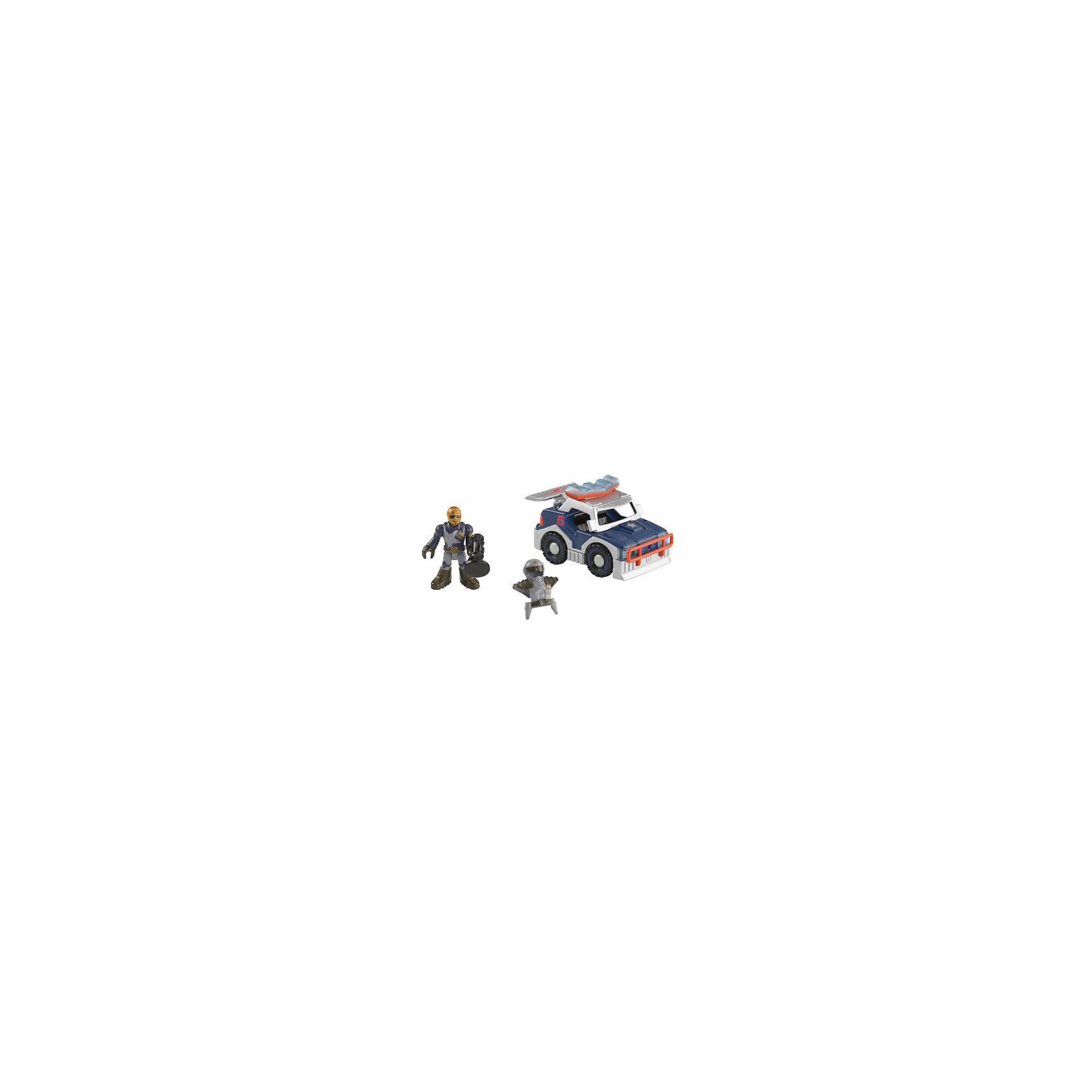 Mattel Набор Городские спасатели с аксессуарами, Imaginext, Fisher Price mattel базовая фигурка октонавты fisher price