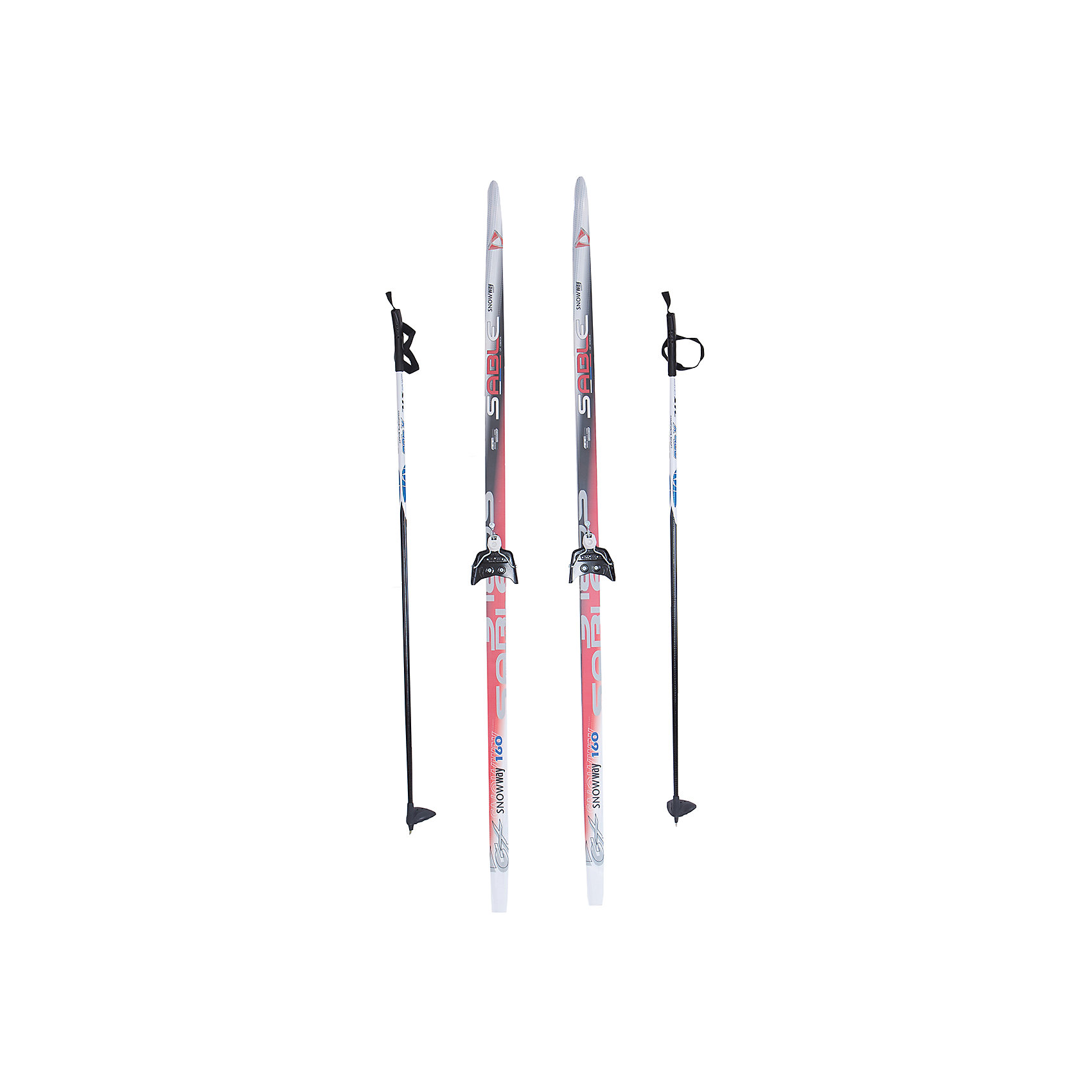 Лыжный комплект на 75мм, Соболь, красные лыжи, палки черныеОписание<br>Назначение:<br>-комплект предназначен для детей в возрасте от 12 до 15 пет;<br><br>-Современный дизайн;<br><br>Лыжи:<br>-Геометрия: 46-46-46, 44-44-44 мм;<br>-Конструкция: CAP, облегченный деревянный клин, скользящая поверхность ПНД;<br>-Ростовка: 160см;<br><br>Палки:<br>-100% стекловолокно<br>-Ручки с темляком;<br><br>Крепления:<br><br>- 75 мм.<br><br>Лыжные комплекты выпускаются без насечки<br>Страна-производитель: Россия<br><br>Ширина мм: 130<br>Глубина мм: 100<br>Высота мм: 1600<br>Вес г: 1580<br>Цвет: разноцветный<br>Возраст от месяцев: 120<br>Возраст до месяцев: 192<br>Пол: Унисекс<br>Возраст: Детский<br>Размер: 160<br>SKU: 5204725