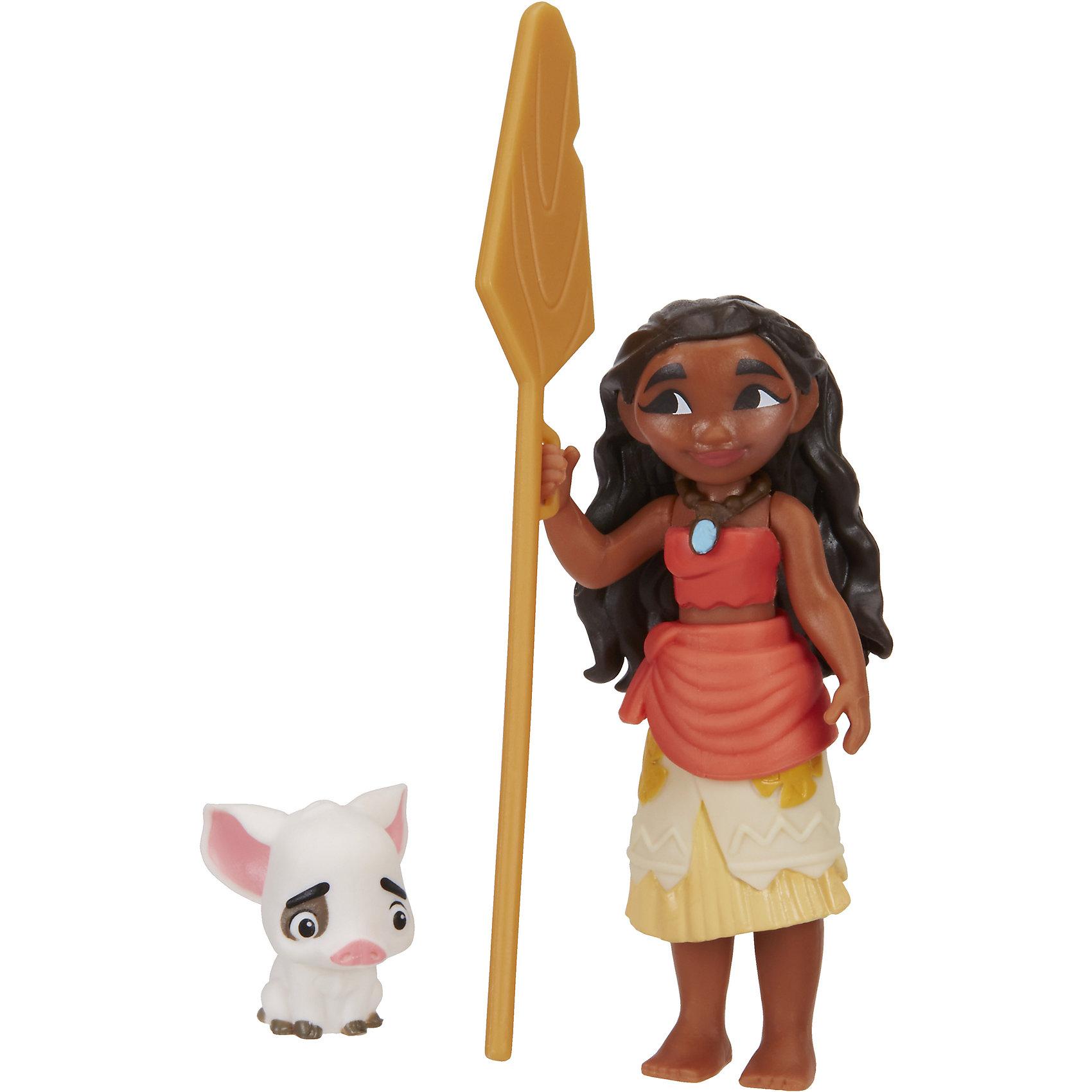 Маленькие куклы Моана Океания и Пуа, МоанаИгрушки<br>Маленькие куклы Моана, Hasbro (Хасбро)<br><br>Характеристики: <br><br>• маленькие копии любимых героев<br>• высокая детализация<br>• материал: пластик<br>• размер упаковки: 15х6х12,5 см<br>• в комплекте: Моана, поросенок Пуа<br><br>Набор от Хасбро содержит точную копию героини мультфильма Моана и ее поросенка. Девушка одета в национальный костюм и держит в руках весло для лодки. С этими игрушками ребенок сможет придумать интересный сюжет для новых приключений.<br><br>Маленькие куклы Моана, Hasbro (Хасбро) вы можете купить в нашем интернет-магазине.<br><br>Ширина мм: 57<br>Глубина мм: 127<br>Высота мм: 152<br>Вес г: 62<br>Возраст от месяцев: 36<br>Возраст до месяцев: 144<br>Пол: Женский<br>Возраст: Детский<br>SKU: 5205211