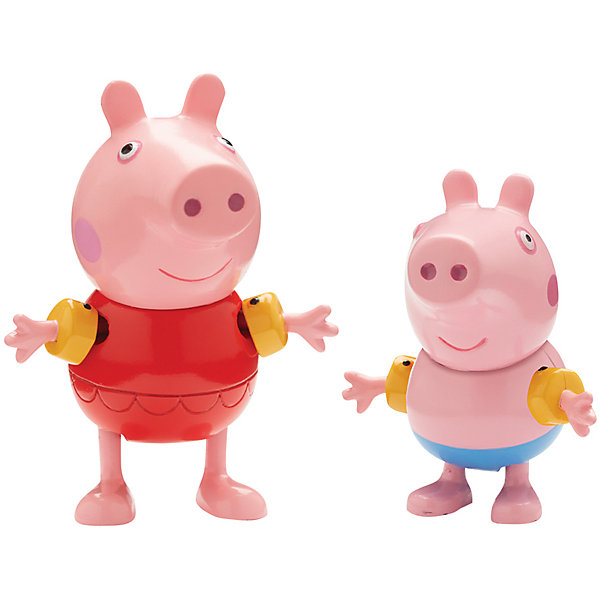 Игровой набор Пеппа на каникулах, Peppa PigИгрушки<br>Игровой набор Пеппа на каникулах, Peppa Pig (Свинка Пеппа).<br><br>Характеристика:<br><br>• Материал: пластик.   <br>• Размер упаковки: 19х17х5 см. <br>• Высота фигурок: Пеппы - 5,5 см; Джорджа - 4,5 см.  <br>• Комплектация: фигурка Пеппы в купальнике и  фигурка Джорджа.<br>• Голова, руки, ноги фигурок подвижные. <br><br>Пеппа и Джордж собираются на пляж, хочешь составить им компанию? Свинки готовы к водным процедурам и ждут только тебя! Игрушки выполнены из высококачественных нетоксичных материалов безопасных для детей. Прекрасный подарок всем поклонникам мультсериала Peppa Pig!<br><br>Игровой набор Пеппа на каникулах, Peppa Pig (Свинка Пеппа), можно купить в нашем интернет-магазине.<br><br>Ширина мм: 190<br>Глубина мм: 50<br>Высота мм: 170<br>Вес г: 83<br>Возраст от месяцев: 36<br>Возраст до месяцев: 2147483647<br>Пол: Унисекс<br>Возраст: Детский<br>SKU: 5211671