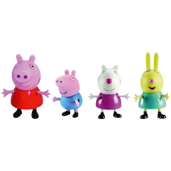 Игровой набор Любимый персонаж, в ассортименте, Peppa PigИгрушки<br>Игровой набор Любимый персонаж, в ассортименте, Peppa Pig (Свинка Пеппа). <br><br>Характеристика:<br><br>• Материал: пластик.  <br>• Размер упаковки: 13х10х3,5 см. <br>• Высота фигурки: 5,5-4,5 см.  <br>• Голова, руки, ноги фигурок подвижные. <br>• 1 фигурка в комплекте. <br>• Фигурки в ассортименте: свинка Пеппа, Джордж, крольчиха Ребекка, овечка Сьюзи, кошечка Кенди, зебра Зоэ, щенок Дени.<br><br>ВНИМАНИЕ! Данный артикул представлен в разных вариантах исполнения. К сожалению, заранее выбрать определенный вариант невозможно. При заказе нескольких фигурок возможно получение одинаковых.<br><br>Этот набор обязательно порадует всех любителей мультсериала Peppa Pig. Яркие фигурки выполнены из экологичного пластика, прекрасно детализированы и реалистично раскрашены - очень похожи на героев мультфильма. Собери все фигурки и придумай свои увлекательные и забавные истории с любимыми персонажами!<br><br>Игровой набор Любимый персонаж, в ассортименте, Peppa Pig (Свинка Пеппа), можно купить в нашем магазине.<br>Ширина мм: 130; Глубина мм: 105; Высота мм: 35; Вес г: 25; Возраст от месяцев: 36; Возраст до месяцев: 2147483647; Пол: Унисекс; Возраст: Детский; SKU: 5211675;