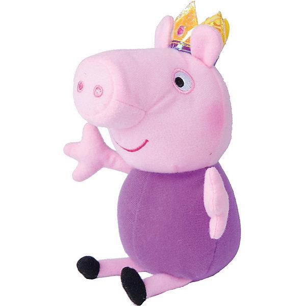 Мягкая игрушка Джордж принц, 20 см, Peppa PigМягкие игрушки из мультфильмов<br>Мягкая игрушка Джордж принц 20 см, Peppa Pig (Свинка Пеппа). <br><br>Характеристика:<br><br>• Материал: пластик, текстиль, плюш.   <br>• Размер игрушки: 20 см.<br>• Игрушка мягкая, очень приятная на ощупь. <br><br>Дети обожают мягкие игрушки! Игрушка в виде любимого героя мультсериала Peppa Pig, Джорджа, приведет в восторг любого ребенка. Малютка-Джордж сшит из мягкого приятного на ощупь плюща. С ним так весело играть днем и приятно засыпать вечером. <br>Собери всю коллекцию плюшевых игрушек Peppa Pig проигрывай сцены из любимых мультфильмов или придумывай свои забавные и интересные истории!  <br><br>Мягкую игрушку Джордж принц 20 см, Peppa Pig (Свинка Пеппа), можно купить в нашем интернет-магазине.<br>Ширина мм: 160; Глубина мм: 100; Высота мм: 75; Вес г: 50; Возраст от месяцев: 36; Возраст до месяцев: 2147483647; Пол: Унисекс; Возраст: Детский; SKU: 5211683;