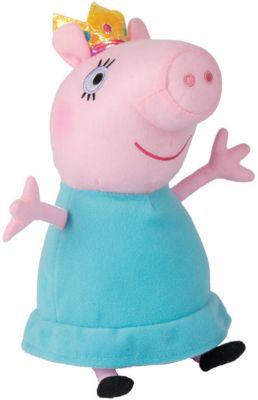 Росмэн Мягкая игрушка Мама-Свинка королева , 30 см, Peppa Pig