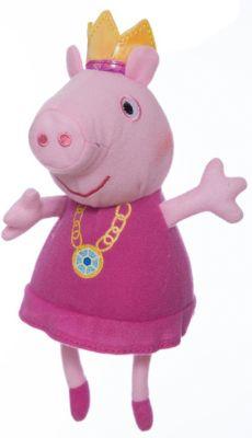 Росмэн Мягкая игрушка Пеппа-принцесса , 20 см, Peppa Pig фото-1