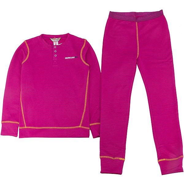 Термобелье Moarri для девочки DIDRIKSONSФлис и термобелье<br>Характеристики товара:<br><br>• цвет: фиолетовый<br>• материал: 100% полиэстер<br>• трикотаж<br>• комплектация: штаны и рубашка<br>• длинный рукав<br>• мягкий материал<br>• пояс на резинке<br>• манжеты<br>• горловина на пуговицах<br>• страна бренда: Швеция<br>• страна производства: Китай<br><br>Такой комплект понадобится в холодную и сырую погоду! Он не только очень теплый, но еще и очень комфортный. Комплект обеспечит ребенку удобство при прогулках и активном отдыхе в холода. Такая модель от шведского производителя легко стирается.<br>Материал комплета - легкий трикотаж, который обладает отличными теплоизоляционными свойствами и приятен на ощупь. Очень стильная и удобная модель! Изделие качественно выполнено, сделано из безопасных для детей материалов. <br><br>Термобелье для девочки от бренда DIDRIKSONS можно купить в нашем интернет-магазине.<br><br>Ширина мм: 356<br>Глубина мм: 10<br>Высота мм: 245<br>Вес г: 519<br>Цвет: лиловый<br>Возраст от месяцев: 72<br>Возраст до месяцев: 84<br>Пол: Женский<br>Возраст: Детский<br>Размер: 120,140,90,80,100,110,130<br>SKU: 5212652