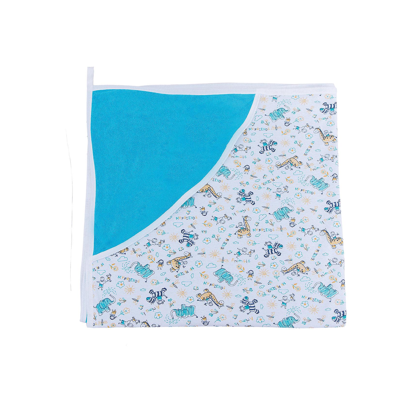 Пелёнка махровая, Сонный гномик, голубойХарактеристики:<br><br>• Вид детского текстиля: пеленка для купания<br>• Пол: для мальчика<br>• Тематика рисунка: сюжетный<br>• Сезон: круглый год<br>• Материал: хлопок 100%<br>• Цвет: голубой, белый, зеленый, бежевый<br>• Размеры: 90*90 см<br>• Наличие петельки для подвешивания<br>• Наличие уголка-капюшона<br>• Вес в упаковке: 320 г<br>• Особенности ухода: машинная стирка при температуре 30 градусов<br><br>Пелёнка махровая, Сонный гномик, голубой от отечественного торгового бренда изготовлена с учетом международных требований к качеству и безопасности товаров для детей. Пелёнка имеет удобную квадратную форму. Одна сторона выполнена из махрового полотна, вторая – из трикотажного полотна. Пеленка предназначена для купания, для удобства ее использования предусмотрена петелька для подвешивания на крючок. Для защиты головы малыша имеется капюшон в форме уголка. Изделие выполнено из натурального хлопка, что обеспечивает его хорошие влаговпитывающие свойства, при этом полотенце быстро высыхает и легко стирается. <br>Пелёнка махровая, Сонный гномик, голубой обеспечит комфорт как во время купания, так и отдыха после приема ванны! <br><br>Пелёнку махровую, Сонный гномик, голубую можно купить в нашем интернет-магазине.<br><br>Ширина мм: 140<br>Глубина мм: 50<br>Высота мм: 120<br>Вес г: 320<br>Возраст от месяцев: 0<br>Возраст до месяцев: 48<br>Пол: Мужской<br>Возраст: Детский<br>SKU: 5213395