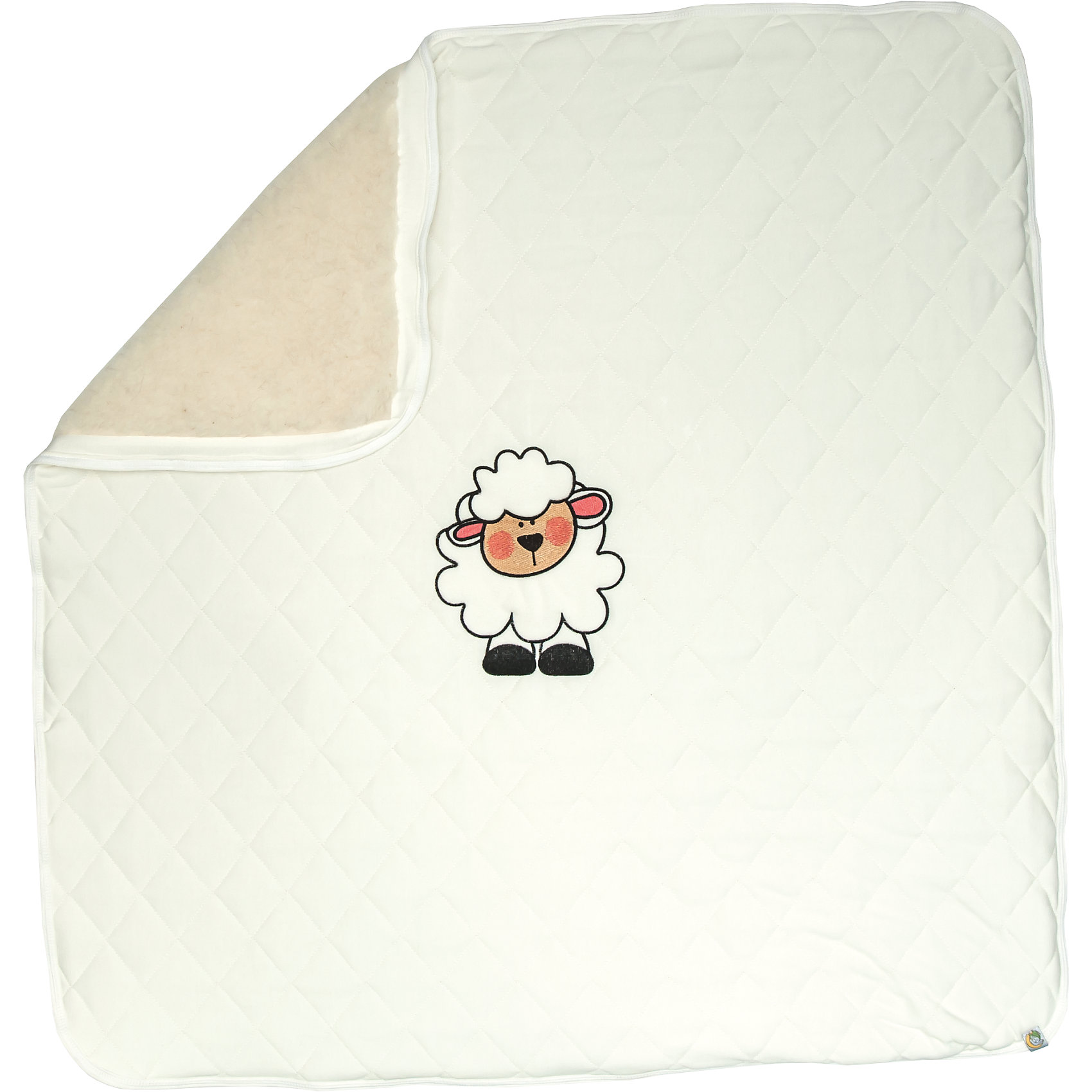 Сонный гномик Плед флисовый, Бараш, Сонный гномик, бежевый сонный гномик комбинезон трансформер бамбино белый