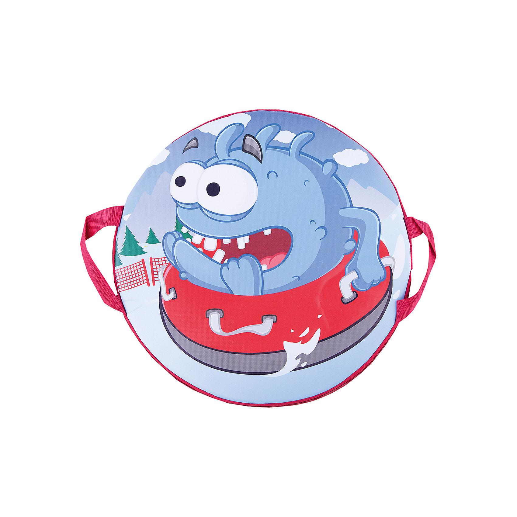 Санки-ледянки № 75 Чудик на ватрушке, диаметр 40смЛедянки<br>Характеристики товара:<br><br>• размер: 40 см<br>• материал: полимер<br>• с принтом<br>• для детей<br>• есть ручки<br><br>Яркие санки-ледянки для катания с горок - отличный подарок для ребенка! Эти ледянки дополнены удобными ручками, с помощью которых можно крепко держаться! Они качественно выполнены, отлично скользят по снегу и помогут принести массу удовольствия от катания на горках!<br>Активный зимний отдых помогает ребенку закалиться, развивать физические показатели , нарабатывать новые навыки и способности - ловкость, быструю реакцию, моторику. Изделие производится из качественных сертифицированных материалов, безопасных даже для самых маленьких.<br><br>Санки-ледянки № 75 Чудик на ватрушке, диаметр 40см, можно купить в нашем интернет-магазине.<br><br>Ширина мм: 400<br>Глубина мм: 400<br>Высота мм: 25<br>Вес г: 250<br>Возраст от месяцев: 48<br>Возраст до месяцев: 2147483647<br>Пол: Унисекс<br>Возраст: Детский<br>SKU: 5214874