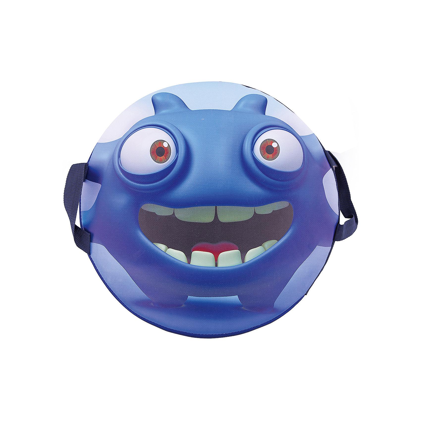"""Санки-плюшка """"Зубастик"""", диаметр 40см от myToys"""
