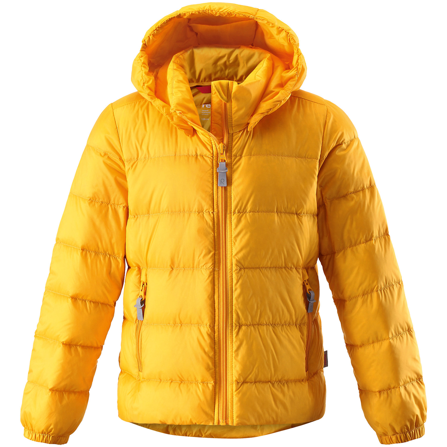 Куртка Medow для девочки ReimaОдежда<br>Характеристики товара:<br><br>• цвет: желтый<br>• состав: 100% полиэстер, полиуретановое покрытие<br>• температурный режим: от 0°С до -7°С<br>• утеплитель: 80% утиный пух, 20% утиное перо<br>• водоотталкивающий и дышащий материал<br>• легкая степень утепления<br>• эластичные манжеты<br>• застежка: молния<br>• удлиненная спинка<br>• отстегивающийся капюшон<br>• карманы на молнии<br>• высокий воротник<br>• логотип<br>• комфортная посадка<br>• светоотражающие детали<br>• страна производства: Китай<br>• страна бренда: Финляндия<br><br>Верхняя одежда для детей может быть модной и комфортной одновременно! Демисезонная куртка поможет обеспечить ребенку комфорт и тепло. Она отлично смотрится с различной одеждой и обувью. Изделие удобно сидит и модно выглядит. Материал - прочный, хорошо подходящий для межсезонья. Стильный дизайн разрабатывался специально для детей.<br><br>Одежда и обувь от финского бренда Reima пользуется популярностью во многих странах. Эти изделия стильные, качественные и удобные. Для производства продукции используются только безопасные, проверенные материалы и фурнитура. Порадуйте ребенка модными и красивыми вещами от Reima! <br><br>Куртку Medow для девочки от финского бренда Reima (Рейма) можно купить в нашем интернет-магазине.<br><br>Ширина мм: 356<br>Глубина мм: 10<br>Высота мм: 245<br>Вес г: 519<br>Цвет: желтый<br>Возраст от месяцев: 108<br>Возраст до месяцев: 120<br>Пол: Женский<br>Возраст: Детский<br>Размер: 140,152,164,122,110,98,128<br>SKU: 5215902