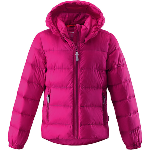 Куртка Medow для девочки ReimaОдежда<br>Куртка Medow для девочки от финского бренда Reima.<br>Состав:<br>100% Полиамид, полиуретановое покрытие<br>Утеплитель:<br>80% утиный пух, 20% утиное перо<br><br>Ширина мм: 356<br>Глубина мм: 10<br>Высота мм: 245<br>Вес г: 519<br>Цвет: розовый<br>Возраст от месяцев: 156<br>Возраст до месяцев: 168<br>Пол: Женский<br>Возраст: Детский<br>Размер: 164,122,152,140,128<br>SKU: 5215907