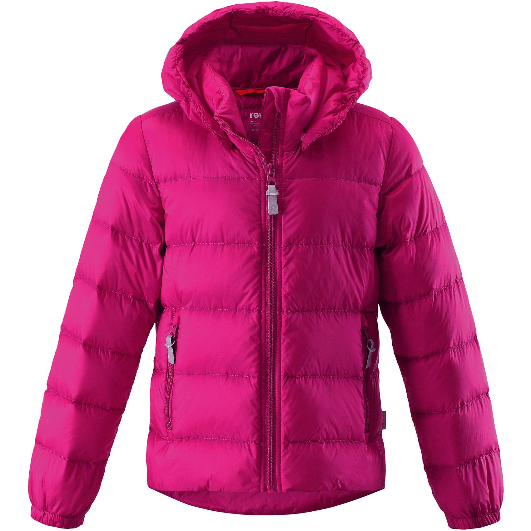 Куртка Medow для девочки ReimaКуртка Medow для девочки от финского бренда Reima.<br>Состав:<br>100% Полиамид, полиуретановое покрытие<br>Утеплитель:<br>80% утиный пух, 20% утиное перо<br><br>Ширина мм: 356<br>Глубина мм: 10<br>Высота мм: 245<br>Вес г: 519<br>Цвет: розовый<br>Возраст от месяцев: 156<br>Возраст до месяцев: 168<br>Пол: Женский<br>Возраст: Детский<br>Размер: 164,140,128,122,152<br>SKU: 5215907