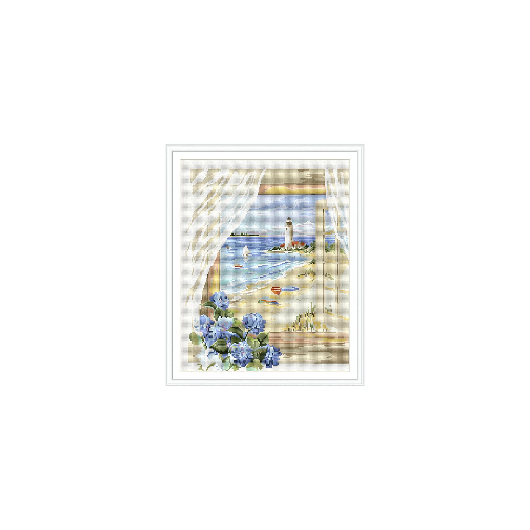Алмазная мозаика по номерам Вид из окна: маяк у моря 40*50 см (на подрамнике)Мозаика<br>Характеристики товара:<br><br>• размер: 40x50 см<br>• размер упаковки: 42x52х5 см<br>• комплектация: холст на подрамнике 40х50 см, комплект искусственных камней, пинцет, пластмассовый лоток для камней, пластмассовый карандаш для камней, клей<br>• материал: акрил, текстиль, пластик<br>• не требует специальных навыков<br>• для творчества<br>• страна бренда: Российская Федерация<br>• страна производства: Китай<br><br>Алмазная мозаика в настоящий момент очень популярна, и это не удивительно! С помощью подобных наборов можно создавать красивые переливающиеся картины, при этом совсем не обязательно иметь опыт рукоделия. В набор для создания алмазной мозаики входит основа, на которую нужно наклеить небольшие камни - поля пронумерованы, поэтому найти для них правильное место не составит труда. В итоге получается картина, которой можно украсить помещение или подарить кому-то!<br>Набор станет отличным подарком для взрослых и детей. Подобные занятия помогают ребенку развивать важные навыки и способности, они активизирует мышление, формируют усидчивость, логику, абстрактное мышление и воображение. Изделие производится из качественных и проверенных материалов, которые безопасны для детей.<br><br>Алмазную мозаику по номерам Вид из окна: маяк у моря 40*50 см (на подрамнике) от бренда Tukzar можно купить в нашем интернет-магазине.<br><br>Ширина мм: 420<br>Глубина мм: 520<br>Высота мм: 50<br>Вес г: 900<br>Возраст от месяцев: 96<br>Возраст до месяцев: 2147483647<br>Пол: Женский<br>Возраст: Детский<br>SKU: 5217082