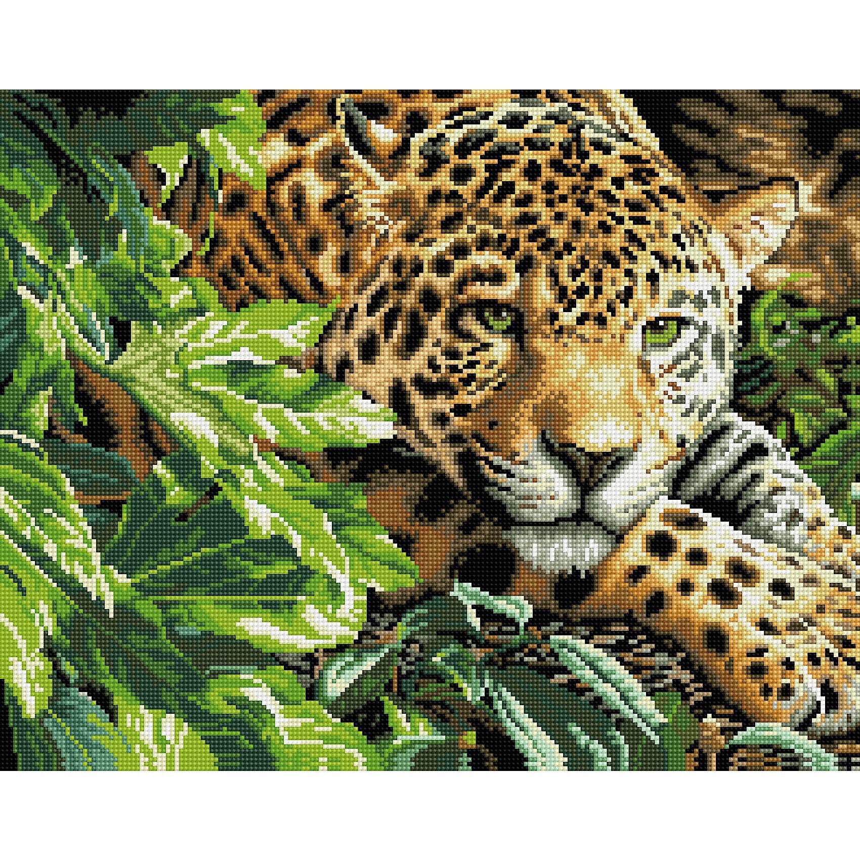 TUKZAR Алмазная мозаика Леопард 40*50 см наборы для поделок цветной алмазная мозаика сидящая балерина