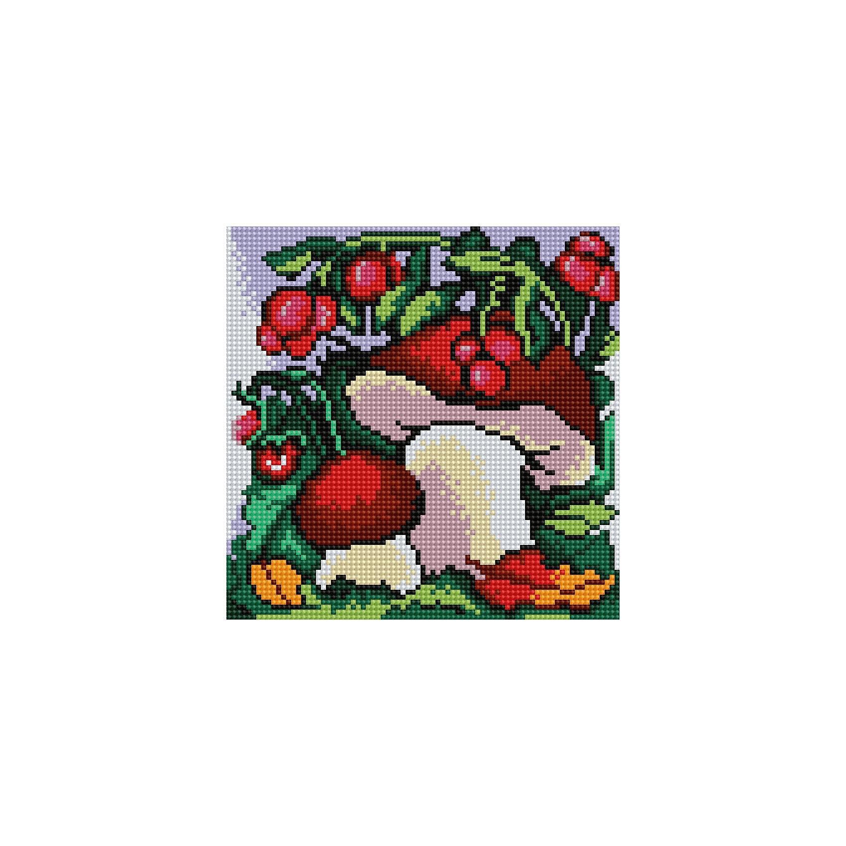 Алмазная мозаика по номерами Грибы 20*20 смПоследняя цена<br>Алмазная мозаика по номерами Грибы 20х20 см.<br><br>Характеристика:<br><br>• Материал: пластик, картон.  <br>• Размер упаковки: 22х22х3 см. <br>• Размер готовой картинки: 20х20 см. <br>• Комплектация: холст на подрамнике, искусственные камни, пинцет, пластмассовый лоток, пластмассовый карандаш для приклеивания, клей.<br>• Развивает мелкую моторику, внимание, усидчивость, цветовосприятие. <br><br>Собирание мозаики - увлекательное занятие, которое обязательно заинтересует детей и поможет развить мелкую моторику, внимание, цветовосприятие и пространственное мышление. Яркую переливающуюся картину ваш ребенок сможет сделать самостоятельно: нужно лишь наклеить цветные камушки на картонную основу с уже нанесенным контурным рисунком. <br>Набор для творчества Алмазная мозаика по номерам полезный и всегда желанный подарок на любой праздник! <br><br>Алмазную мозаику по номерами Грибы 20х20 см, можно купить в нашем интернет-магазине.<br><br>Ширина мм: 220<br>Глубина мм: 220<br>Высота мм: 30<br>Вес г: 900<br>Возраст от месяцев: 96<br>Возраст до месяцев: 2147483647<br>Пол: Женский<br>Возраст: Детский<br>SKU: 5217184