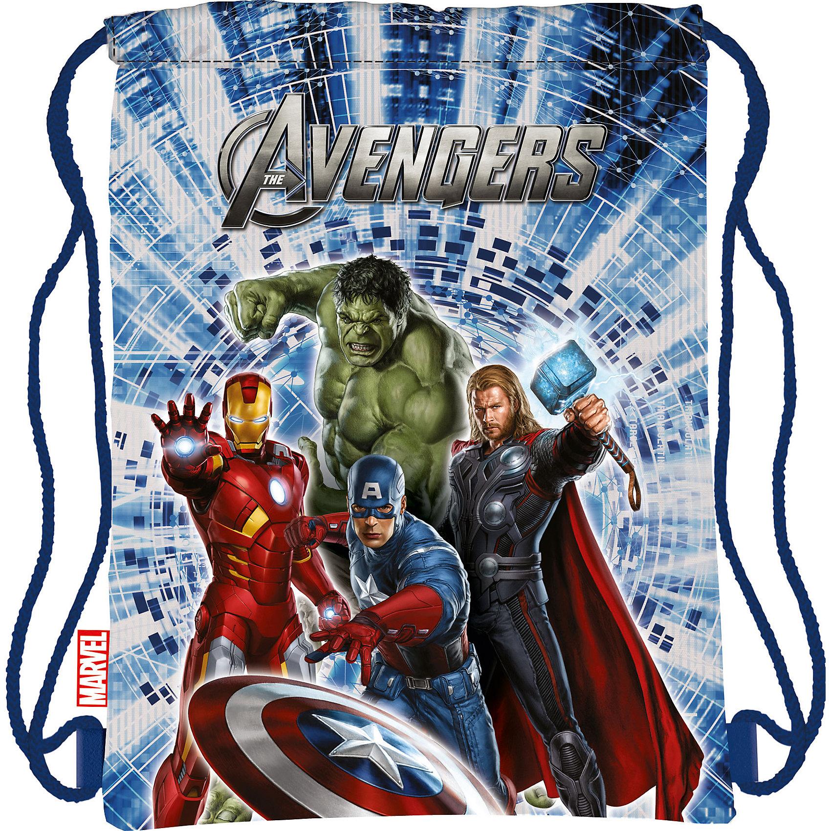 Академия групп Сумка-рюкзак для обуви, Avengers мешок для обуви академия групп transformers 43 34см trbb ut1 883