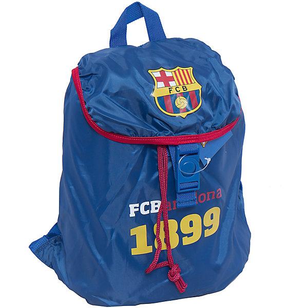 Рюкзак-мешок, Barcelona FCРюкзаки для подростков<br>Характеристики рюкзака-мешок, Barcelona FC:<br><br>- размер 43 * 34 * 12 см <br>- материал: полиэстер.<br>- цвет: синий <br>- принт: Barcelona Fc.<br>- бренд: Kinderline.<br><br>Рюкзак-мешок Barcelona – это молодежный рюкзак и подойдет для учеников средних классов. Стильный и оригинальный с символикой Barcelona FC. Имеет одно вместительное отделение и подойдет на любой случай. В него можно сложить одежду для спортивных тренировок, еду для похода или просто, необходимые вещи.<br>Комплектность – рюкзак без наполнения.<br><br>Рюкзак-мешок, Barcelona FC можно купить в нашем интернет-магазине.<br>Ширина мм: 430; Глубина мм: 340; Высота мм: 120; Вес г: 125; Возраст от месяцев: 156; Возраст до месяцев: 180; Пол: Мужской; Возраст: Детский; SKU: 5218400;