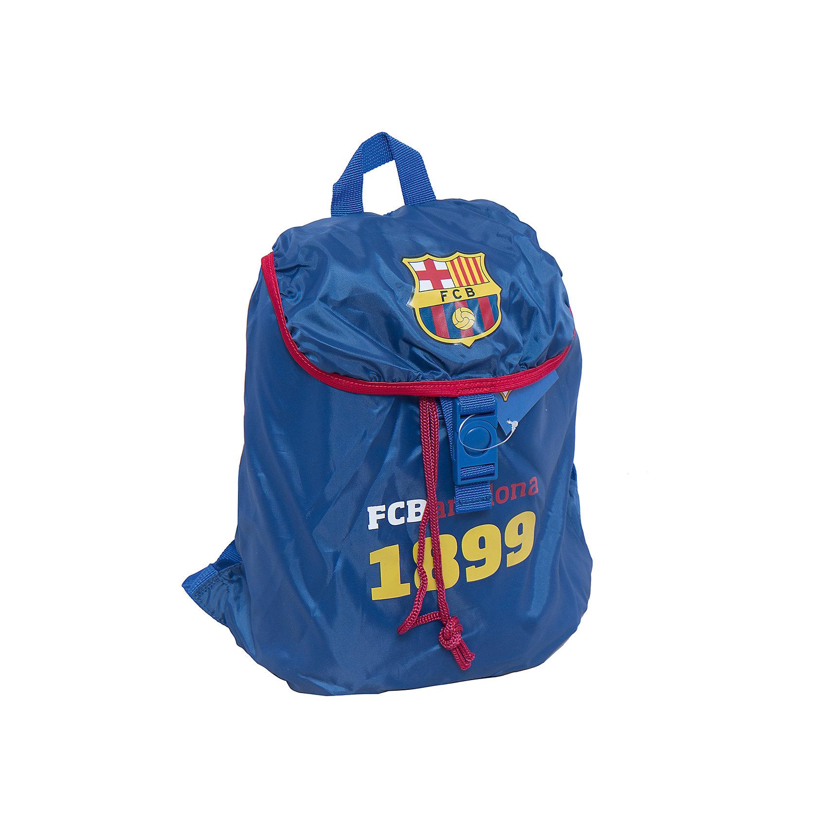 Рюкзак-мешок, Barcelona FCМешки для обуви<br>Характеристики рюкзака-мешок, Barcelona FC:<br><br>- размер 43 * 34 * 12 см <br>- материал: полиэстер.<br>- цвет: синий <br>- принт: Barcelona Fc.<br>- бренд: Kinderline.<br><br>Рюкзак-мешок Barcelona – это молодежный рюкзак и подойдет для учеников средних классов. Стильный и оригинальный с символикой Barcelona FC. Имеет одно вместительное отделение и подойдет на любой случай. В него можно сложить одежду для спортивных тренировок, еду для похода или просто, необходимые вещи.<br>Комплектность – рюкзак без наполнения.<br><br>Рюкзак-мешок, Barcelona FC можно купить в нашем интернет-магазине.<br><br>Ширина мм: 430<br>Глубина мм: 340<br>Высота мм: 120<br>Вес г: 125<br>Возраст от месяцев: 156<br>Возраст до месяцев: 180<br>Пол: Мужской<br>Возраст: Детский<br>SKU: 5218400