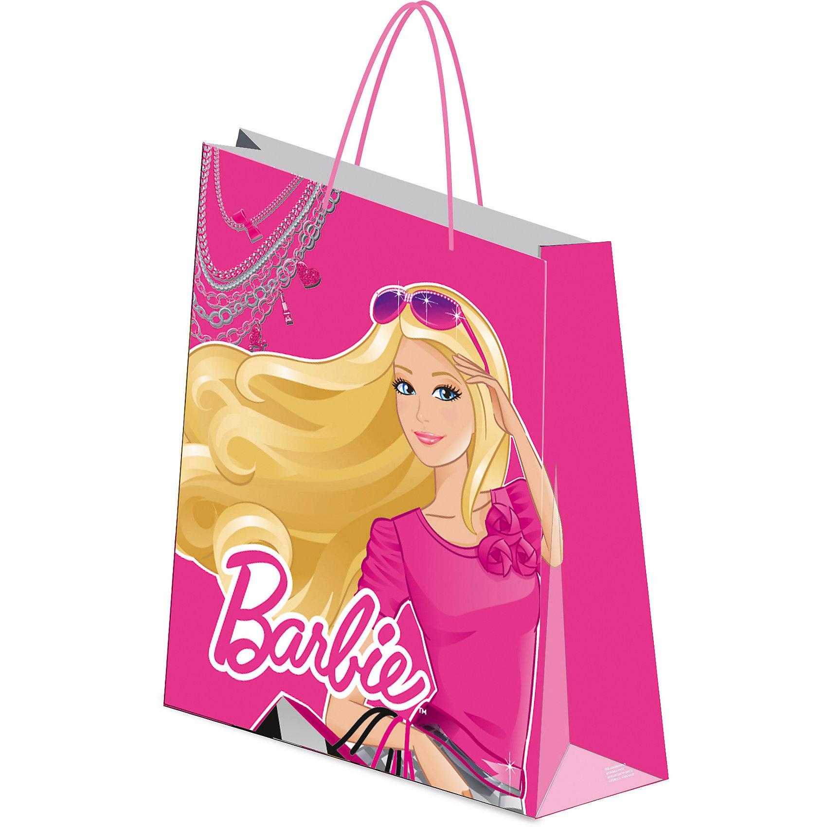 Академия групп Пакет подарочный 41,5*55*15,5 см, Barbie росмэн пакет подарочный мои питомцы 230х180х100 barbie