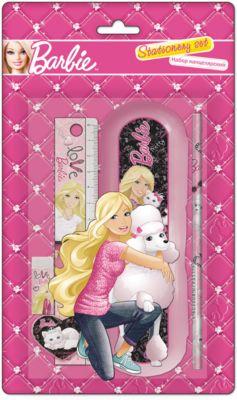 Академия групп Набор канцелярский (6 предметов), Barbie