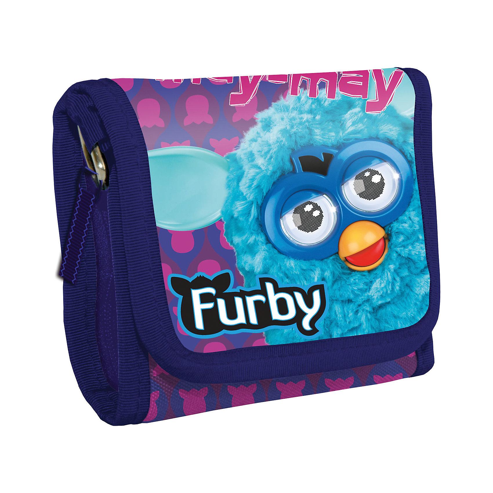 Кошелек, FurbyКошелек, Furby (Фёрби).<br><br>Характеристики:<br><br>- Размеры:14х9х2см<br>- Материал: текстиль.<br><br>Кошелек, Furby (Фёрби) – стильный аксессуар для стильного ребенка. Кошелек изготовлен из прочного материала устойчивого к износу. Закрывается клапаном на липучке. Внутри кошелька кармшек, обработанный подкладочным материалом. Украшен кошелек изображением полюбившимся героем Фёрби. <br><br>Кошелек, Furby (Фёрби), можно купить в нашем интернет – магазине.<br><br>Ширина мм: 140<br>Глубина мм: 90<br>Высота мм: 20<br>Вес г: 60<br>Возраст от месяцев: 48<br>Возраст до месяцев: 96<br>Пол: Женский<br>Возраст: Детский<br>SKU: 5218426