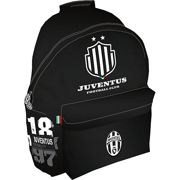 Рюкзак 36*25*12 см, JuventusРюкзаки<br>Рюкзак  Juventus (Ювентус).<br><br>Характеристики:<br><br>- Размеры: 40х31х15 см<br>- Вес: 484г<br>- Цвет: черный.<br><br>Удобный, вместительный рюкзак для похода в спортивные секции. Такой рюкзак также  можно  использовать, как дорожный, что особенно удобно  в летний период времени, когда дети уезжают в санатории и лагеря. Такой рюкзак порадует каждого мальчика. Основной отдел на молнии, вместительный наружный карман на скрытой молнии, один внутренний накладной карман на молнии. Рюкзак декорирован эмблемами и цветами спортивного клуба Juventus (Ювентус) .   <br><br>Рюкзак Juventus (Ювентус), можно купить в нашем интернет – магазине.<br>Ширина мм: 310; Глубина мм: 150; Высота мм: 400; Вес г: 484; Возраст от месяцев: 72; Возраст до месяцев: 192; Пол: Мужской; Возраст: Детский; SKU: 5218430;