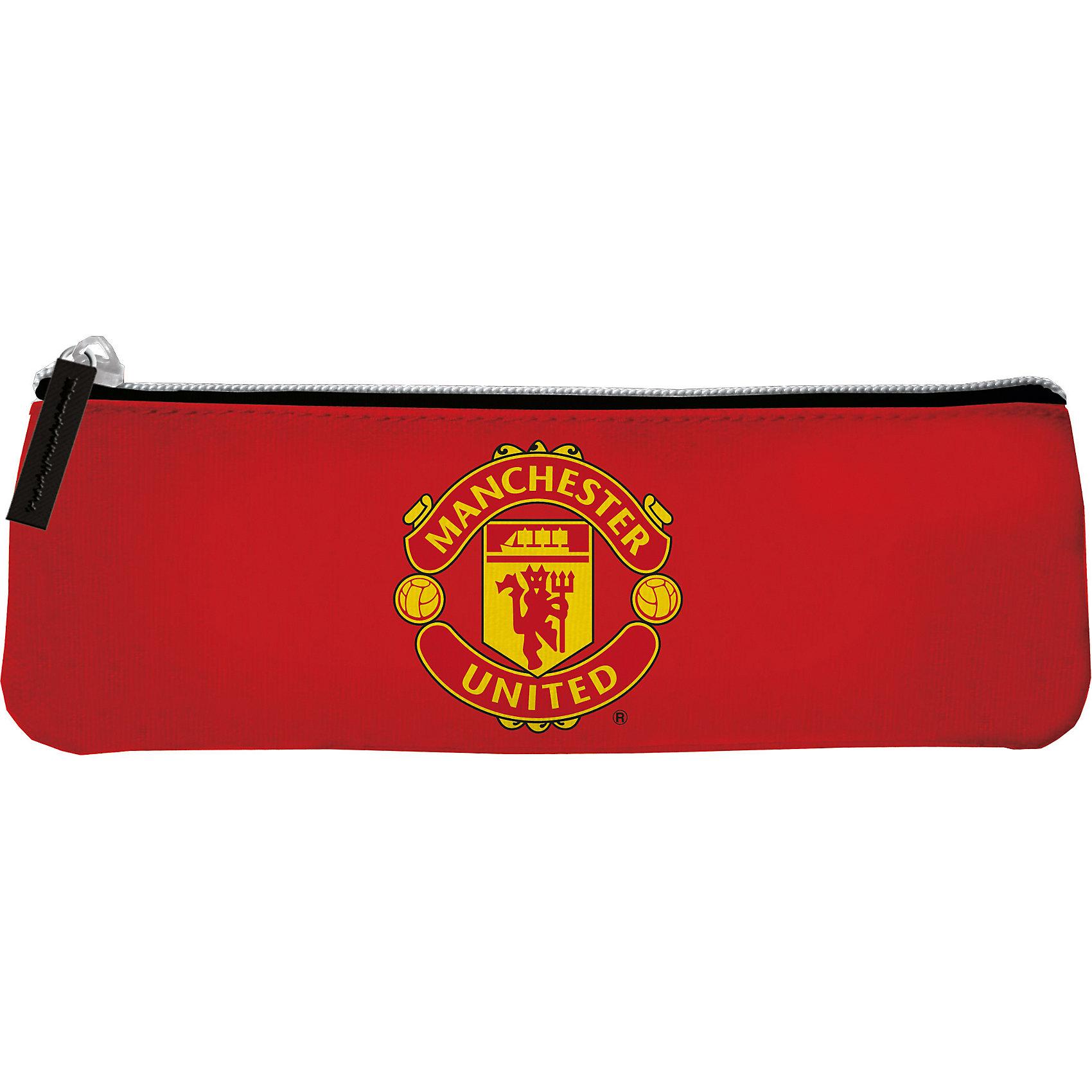 Пенал, Manchester United FCПенал, Manchester United FC, Академия Групп<br><br>Характеристики:<br><br>• прочный и водонепроницаемый<br>• удобная застежка-молния<br>• декорирован символикой ФК Манчестер Юнайтед<br>• размер: 6х3х21 см<br>• вес: 28 грамм<br><br>Пенал от компании Kinderline отлично подойдет для школьных или других развивающихся занятий. Он изготовлен из водонепроницаемых материалов, отличающихся высокой износостойкостью. Пенал застегивается на молнию и имеет специальную вставку для поддерживания во время расстегивания. Яркий дизайн с логотипом футбольного клуба Манчестер Юнайтед понравится каждому любителю футбола!<br><br>Пенал, Manchester United FC, Академия Групп вы можете купить в нашем интернет-магазине.<br><br>Ширина мм: 210<br>Глубина мм: 3<br>Высота мм: 60<br>Вес г: 28<br>Возраст от месяцев: 156<br>Возраст до месяцев: 180<br>Пол: Мужской<br>Возраст: Детский<br>SKU: 5218452
