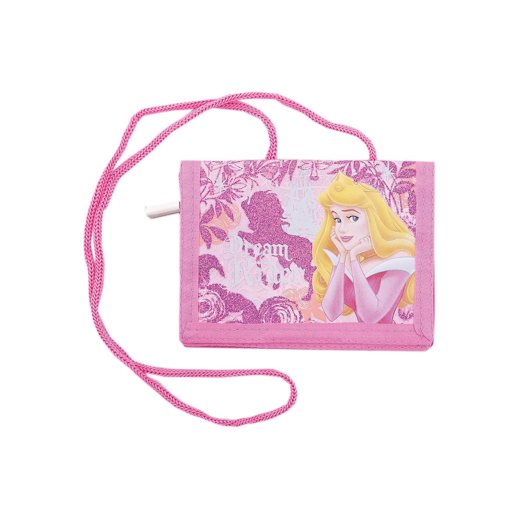 Кошелек, Принцессы ДиснейАксессуары<br>Характеристики Товара:<br><br>• цвет: розовый<br>• размер: 10х14х5 см<br>• на шнурке<br>• материал: текстиль<br>• прочный материал<br>• принт: принцессы Дисней<br><br>Хранить карманные деньги приятнее всего в красивом кошельке! Такое изделие поможет ребенку аккуратно складывать и всегда иметь под рукой нужные мелочи. Удобный формат, надежная застежка, яркие цвета, качественное исполнение!<br>Что особенно понравится девочкам - изделие украшено ярким красивым принтом с принцессами Диснея. Подруги будут завидовать! Отличный вариант маленького подарка для девочек. Товар производится из качественных и проверенных материалов, которые безопасны для детей.<br><br>Кошелек, Принцессы Дисней, можно купить в нашем интернет-магазине.<br><br>Ширина мм: 100<br>Глубина мм: 140<br>Высота мм: 5<br>Вес г: 86<br>Возраст от месяцев: 60<br>Возраст до месяцев: 84<br>Пол: Женский<br>Возраст: Детский<br>SKU: 5218463