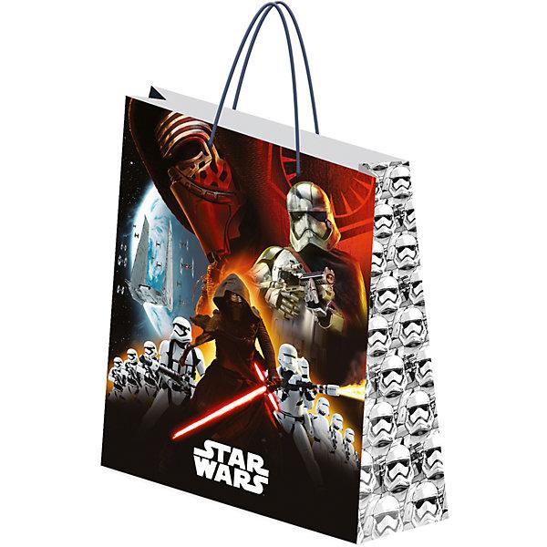 Пакет бумажный подарочный 28*34*9 см, STAR WARS
