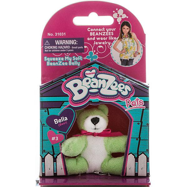 Мини-плюш Мишка,салатовый, BeanzeezМягкие игрушки животные<br>Характеристики товара:<br><br>• цвет: салатовый<br>• особенности: наличие на лапках липучек, игрушку можно соединять с другими героями из серии<br>• материал: пластик, текстиль<br>• размер упаковки: 9х5,5х14,5 см.<br>• высота игрушки: 5 см<br>• возраст: от 3 лет<br>• страна бренда: США<br>• страна производства: Китай<br><br>Такая симпатичная игрушка не оставит ребенка равнодушным! Какой малыш откажется поиграть с маленькими плюшевыми игрушками из большой пушистой коллекции?! Игрушки очень качественно выполнены, поэтому такая фигурка станет отличным подарком ребенку. Благодаря липучкам на лапках животных можно соединить между собой. Дети приходят в восторг от этих игрушек!<br>Такие предметы помогают ребенку отрабатывать новые навыки и способности - развивать ловкость, мелкую моторику, воображение, мышление, логику. Изделие производится из качественных сертифицированных материалов, безопасных даже для самых маленьких.<br><br>Мини-плюш Мишка,салатовый, от бренда Beanzeez можно купить в нашем интернет-магазине.<br><br>Ширина мм: 50<br>Глубина мм: 140<br>Высота мм: 85<br>Вес г: 73<br>Возраст от месяцев: 36<br>Возраст до месяцев: 2147483647<br>Пол: Унисекс<br>Возраст: Детский<br>SKU: 5218662