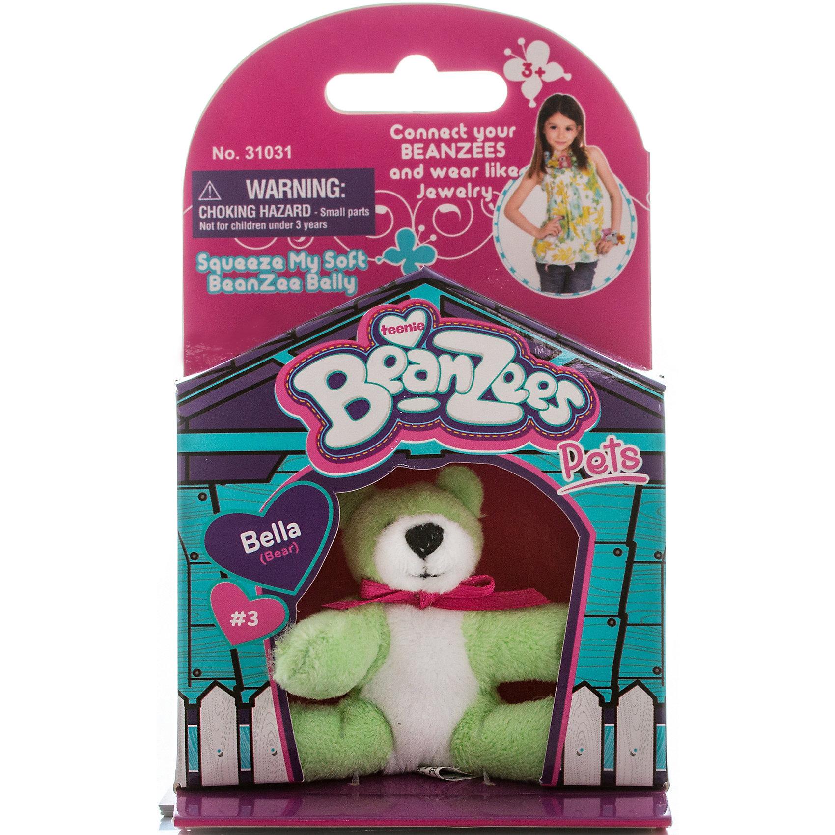Мини-плюш Мишка,салатовый, BeanzeezХарактеристики товара:<br><br>• цвет: салатовый<br>• особенности: наличие на лапках липучек, игрушку можно соединять с другими героями из серии<br>• материал: пластик, текстиль<br>• размер упаковки: 9х5,5х14,5 см.<br>• высота игрушки: 5 см<br>• возраст: от 3 лет<br>• страна бренда: США<br>• страна производства: Китай<br><br>Такая симпатичная игрушка не оставит ребенка равнодушным! Какой малыш откажется поиграть с маленькими плюшевыми игрушками из большой пушистой коллекции?! Игрушки очень качественно выполнены, поэтому такая фигурка станет отличным подарком ребенку. Благодаря липучкам на лапках животных можно соединить между собой. Дети приходят в восторг от этих игрушек!<br>Такие предметы помогают ребенку отрабатывать новые навыки и способности - развивать ловкость, мелкую моторику, воображение, мышление, логику. Изделие производится из качественных сертифицированных материалов, безопасных даже для самых маленьких.<br><br>Мини-плюш Мишка,салатовый, от бренда Beanzeez можно купить в нашем интернет-магазине.<br><br>Ширина мм: 50<br>Глубина мм: 140<br>Высота мм: 85<br>Вес г: 73<br>Возраст от месяцев: 36<br>Возраст до месяцев: 2147483647<br>Пол: Унисекс<br>Возраст: Детский<br>SKU: 5218662