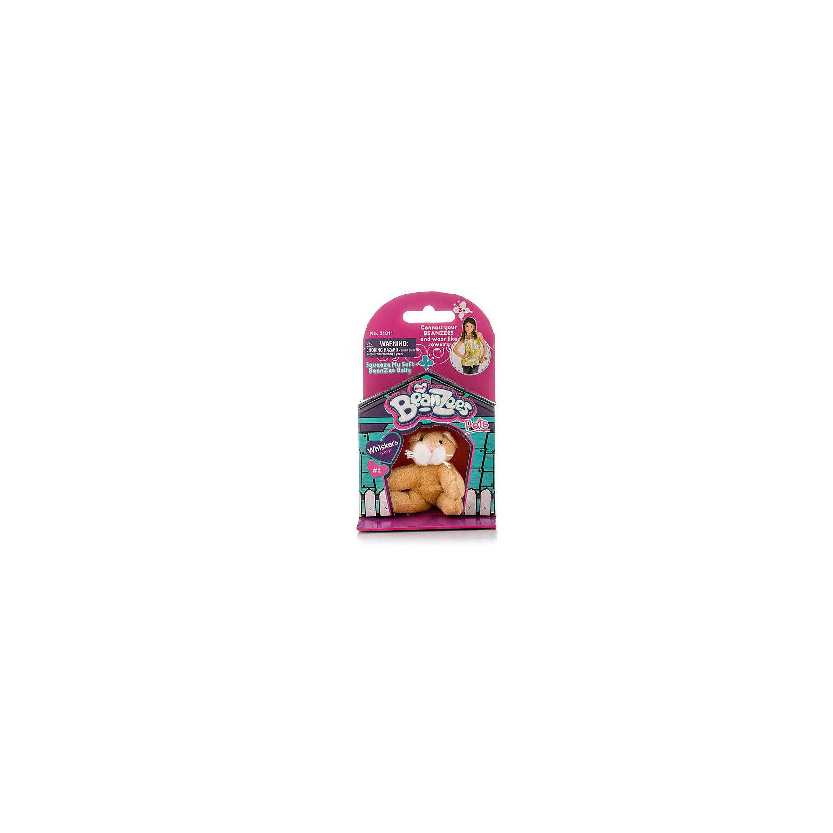Мини-плюш Кошка, BeanzeezМягкие игрушки животные<br>Характеристики товара:<br><br>• особенности: наличие на лапках липучек, игрушку можно соединять с другими героями из серии<br>• материал: пластик, текстиль<br>• размер упаковки: 9х5,5х14,5 см.<br>• высота игрушки: 5 см<br>• возраст: от 3 лет<br>• страна бренда: США<br>• страна производства: Китай<br><br>Такая симпатичная игрушка не оставит ребенка равнодушным! Какой малыш откажется поиграть с маленькими плюшевыми игрушками из большой пушистой коллекции?! Игрушки очень качественно выполнены, поэтому такая фигурка станет отличным подарком ребенку. Благодаря липучкам на лапках животных можно соединить между собой. Дети приходят в восторг от этих игрушек!<br>Такие предметы помогают ребенку отрабатывать новые навыки и способности - развивать ловкость, мелкую моторику, воображение, мышление, логику. Изделие производится из качественных сертифицированных материалов, безопасных даже для самых маленьких.<br><br>Мини-плюш Кошка от бренда Beanzeez можно купить в нашем интернет-магазине.<br><br>Ширина мм: 50<br>Глубина мм: 140<br>Высота мм: 85<br>Вес г: 73<br>Возраст от месяцев: 36<br>Возраст до месяцев: 2147483647<br>Пол: Женский<br>Возраст: Детский<br>SKU: 5218664