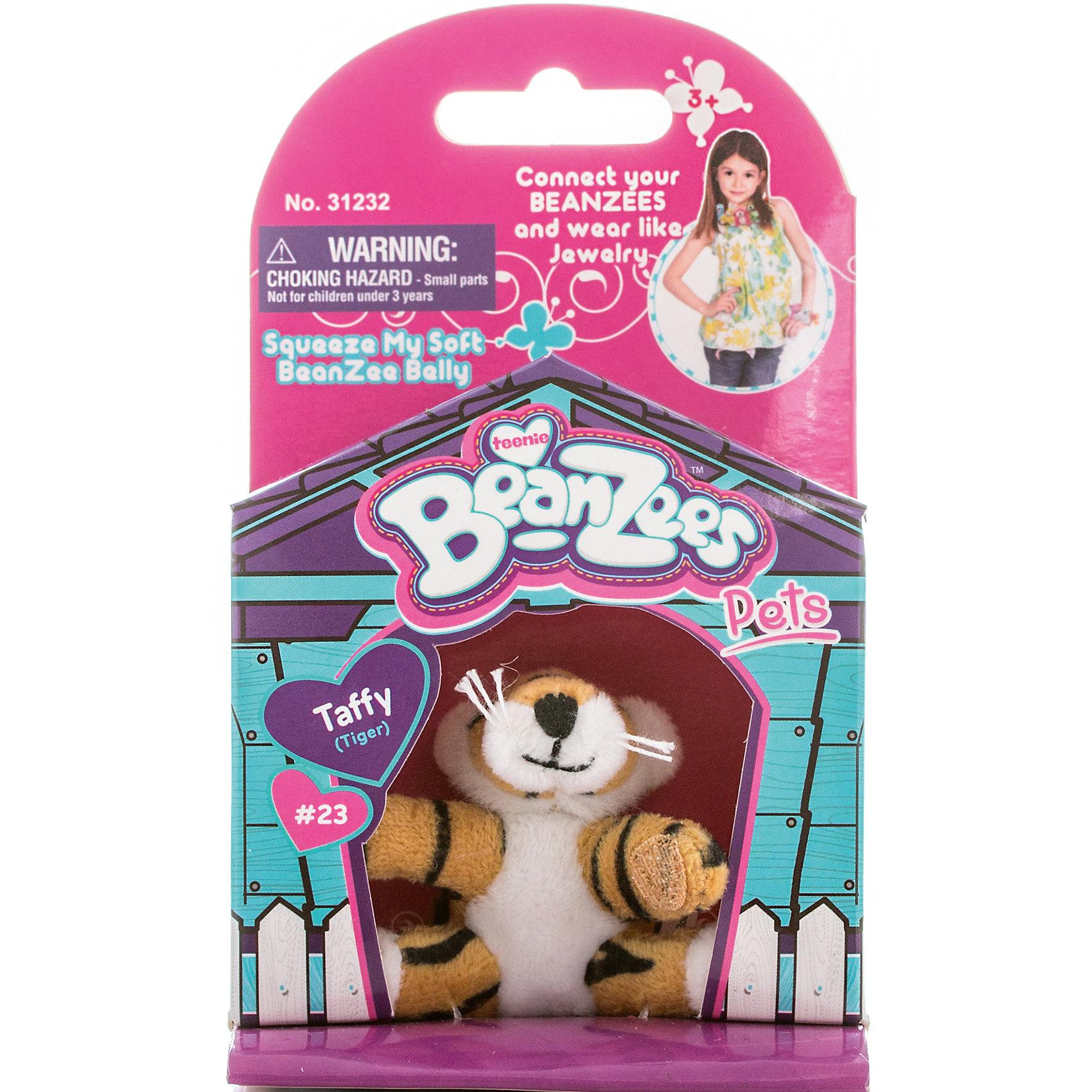 Мини-плюш Тигр, BeanzeezХарактеристики товара:<br><br>• особенности: наличие на лапках липучек, игрушку можно соединять с другими героями из серии<br>• материал: пластик, текстиль<br>• размер упаковки: 9х5,5х14,5 см.<br>• высота игрушки: 5 см<br>• возраст: от 3 лет<br>• страна бренда: США<br>• страна производства: Китай<br><br>Такая симпатичная игрушка не оставит ребенка равнодушным! Какой малыш откажется поиграть с маленькими плюшевыми игрушками из большой пушистой коллекции?! Игрушки очень качественно выполнены, поэтому такая фигурка станет отличным подарком ребенку. Благодаря липучкам на лапках животных можно соединить между собой. Дети приходят в восторг от этих игрушек!<br>Такие предметы помогают ребенку отрабатывать новые навыки и способности - развивать ловкость, мелкую моторику, воображение, мышление, логику. Изделие производится из качественных сертифицированных материалов, безопасных даже для самых маленьких.<br><br>Мини-плюш Тигр от бренда Beanzeez можно купить в нашем интернет-магазине.<br><br>Ширина мм: 50<br>Глубина мм: 140<br>Высота мм: 85<br>Вес г: 73<br>Возраст от месяцев: 36<br>Возраст до месяцев: 2147483647<br>Пол: Женский<br>Возраст: Детский<br>SKU: 5218667