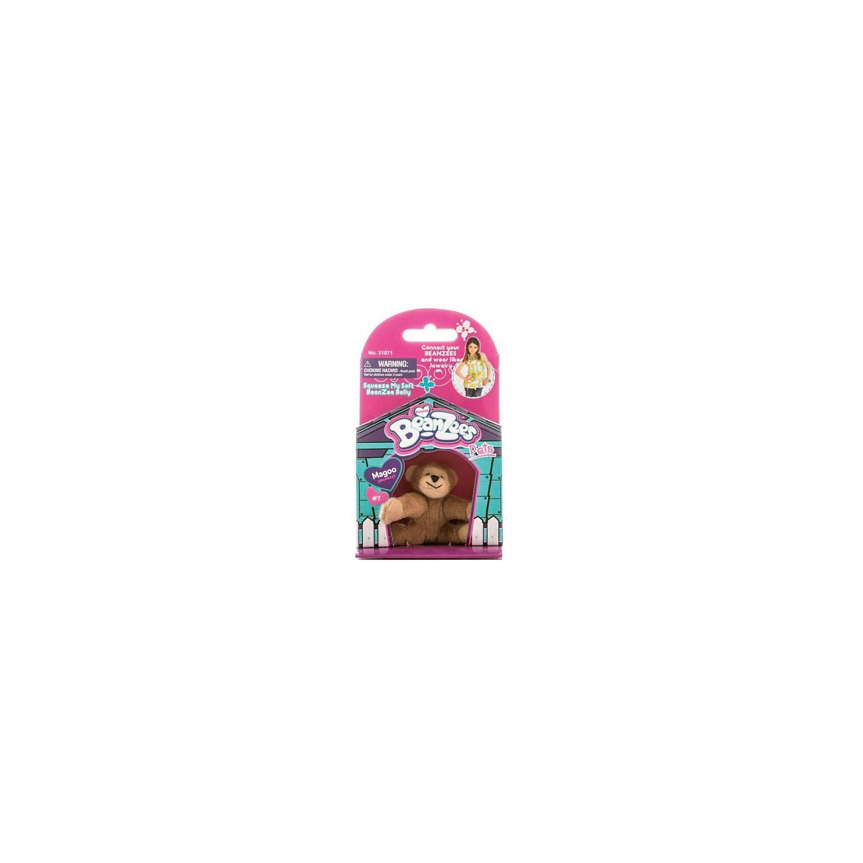 Мини-плюш Обезьянка, BeanzeezМягкие игрушки животные<br>Характеристики товара:<br><br>• особенности: наличие на лапках липучек, игрушку можно соединять с другими героями из серии<br>• материал: пластик, текстиль<br>• размер упаковки: 9х5,5х14,5 см.<br>• высота игрушки: 5 см<br>• возраст: от 3 лет<br>• страна бренда: США<br>• страна производства: Китай<br><br>Такая симпатичная игрушка не оставит ребенка равнодушным! Какой малыш откажется поиграть с маленькими плюшевыми игрушками из большой пушистой коллекции?! Игрушки очень качественно выполнены, поэтому такая фигурка станет отличным подарком ребенку. Благодаря липучкам на лапках животных можно соединить между собой. Дети приходят в восторг от этих игрушек!<br>Такие предметы помогают ребенку отрабатывать новые навыки и способности - развивать ловкость, мелкую моторику, воображение, мышление, логику. Изделие производится из качественных сертифицированных материалов, безопасных даже для самых маленьких.<br><br>Мини-плюш Мишка от бренда Beanzeez можно купить в нашем интернет-магазине.<br><br>Ширина мм: 50<br>Глубина мм: 140<br>Высота мм: 85<br>Вес г: 73<br>Возраст от месяцев: 36<br>Возраст до месяцев: 2147483647<br>Пол: Женский<br>Возраст: Детский<br>SKU: 5218678