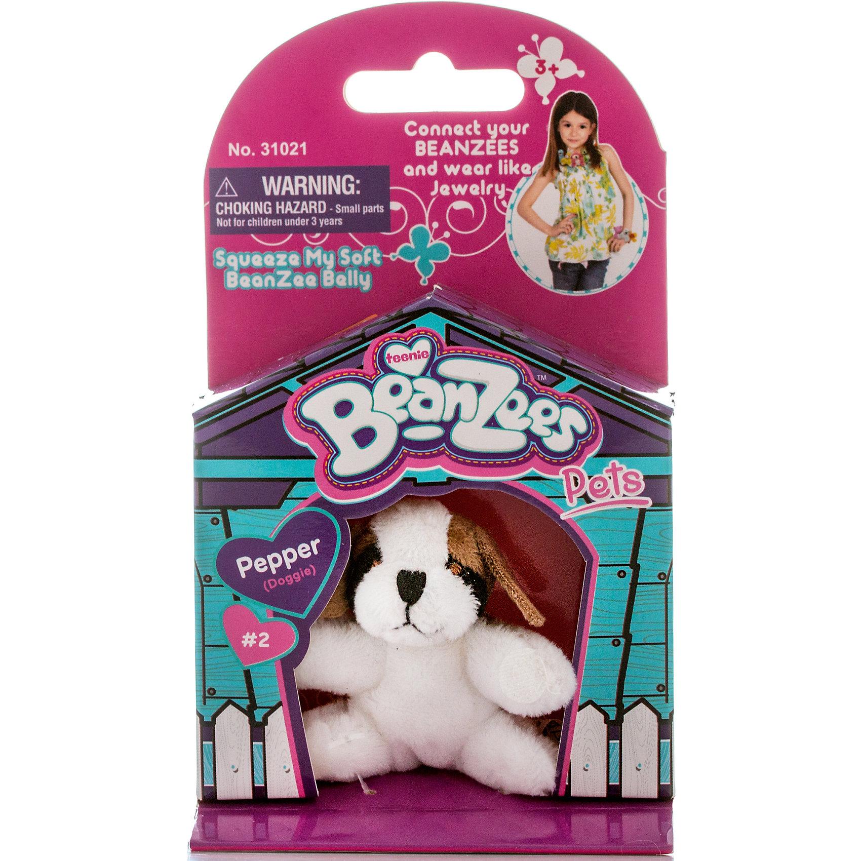 Мини-плюш Собака, BeanzeezХарактеристики товара:<br><br>• особенности: наличие на лапках липучек, игрушку можно соединять с другими героями из серии<br>• материал: пластик, текстиль<br>• размер упаковки: 9х5,5х14,5 см.<br>• высота игрушки: 5 см<br>• возраст: от 3 лет<br>• страна бренда: США<br>• страна производства: Китай<br><br>Такая симпатичная игрушка не оставит ребенка равнодушным! Какой малыш откажется поиграть с маленькими плюшевыми игрушками из большой пушистой коллекции?! Игрушки очень качественно выполнены, поэтому такая фигурка станет отличным подарком ребенку. Благодаря липучкам на лапках животных можно соединить между собой. Дети приходят в восторг от этих игрушек!<br>Такие предметы помогают ребенку отрабатывать новые навыки и способности - развивать ловкость, мелкую моторику, воображение, мышление, логику. Изделие производится из качественных сертифицированных материалов, безопасных даже для самых маленьких.<br><br>Мини-плюш Собака от бренда Beanzeez можно купить в нашем интернет-магазине.<br><br>Ширина мм: 50<br>Глубина мм: 140<br>Высота мм: 85<br>Вес г: 73<br>Возраст от месяцев: 36<br>Возраст до месяцев: 2147483647<br>Пол: Женский<br>Возраст: Детский<br>SKU: 5218679