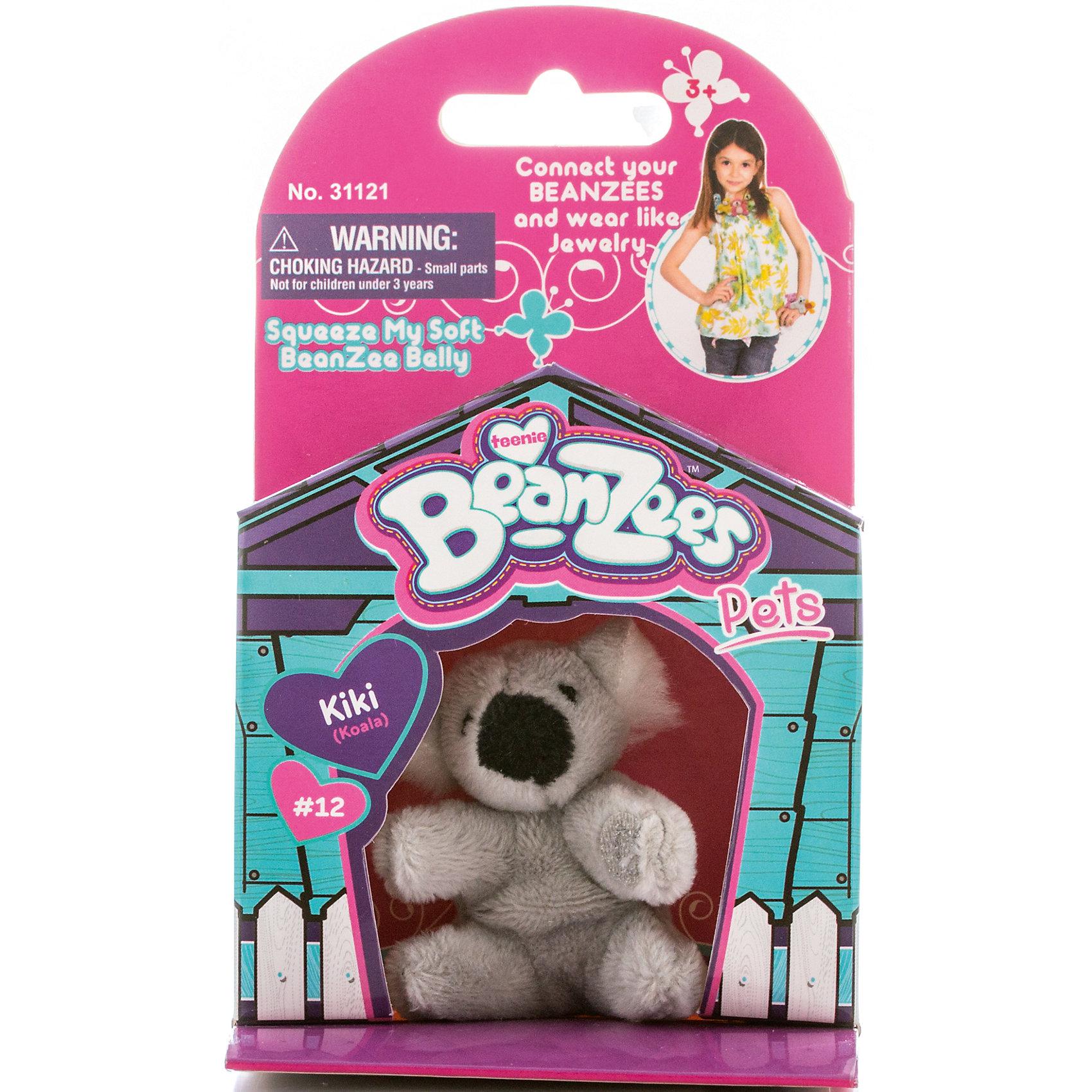 Мини-плюш Коала, BeanzeezМягкие игрушки животные<br>Характеристики товара:<br><br>• особенности: наличие на лапках липучек, игрушку можно соединять с другими героями из серии<br>• материал: пластик, текстиль<br>• размер упаковки: 9х5,5х14,5 см.<br>• высота игрушки: 5 см<br>• возраст: от 3 лет<br>• страна бренда: США<br>• страна производства: Китай<br><br>Такая симпатичная игрушка не оставит ребенка равнодушным! Какой малыш откажется поиграть с маленькими плюшевыми игрушками из большой пушистой коллекции?! Игрушки очень качественно выполнены, поэтому такая фигурка станет отличным подарком ребенку. Благодаря липучкам на лапках животных можно соединить между собой. Дети приходят в восторг от этих игрушек!<br>Такие предметы помогают ребенку отрабатывать новые навыки и способности - развивать ловкость, мелкую моторику, воображение, мышление, логику. Изделие производится из качественных сертифицированных материалов, безопасных даже для самых маленьких.<br><br>Мини-плюш Коала от бренда Beanzeez можно купить в нашем интернет-магазине.<br><br>Ширина мм: 50<br>Глубина мм: 140<br>Высота мм: 85<br>Вес г: 73<br>Возраст от месяцев: 36<br>Возраст до месяцев: 2147483647<br>Пол: Женский<br>Возраст: Детский<br>SKU: 5218680